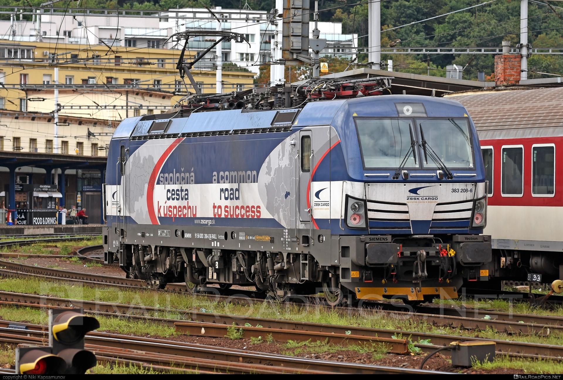 Siemens Vectron MS - 383 208-6 operated by Železničná Spoločnost' Cargo Slovakia a.s. #SRailLease #SRailLeaseSro #ZeleznicnaSpolocnostCargoSlovakia #raill #siemens #siemensvectron #siemensvectronms #vectron #vectronms #zsskcargo