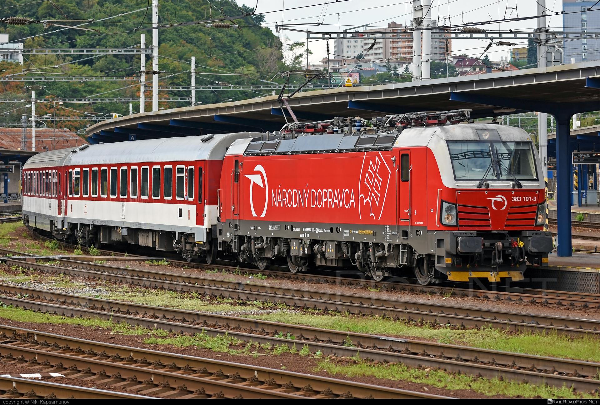 Siemens Vectron MS - 383 101-3 operated by Železničná Spoločnost' Slovensko, a.s. #SRailLease #SRailLeaseSro #ZeleznicnaSpolocnostSlovensko #raill #siemens #siemensvectron #siemensvectronms #vectron #vectronms #zssk