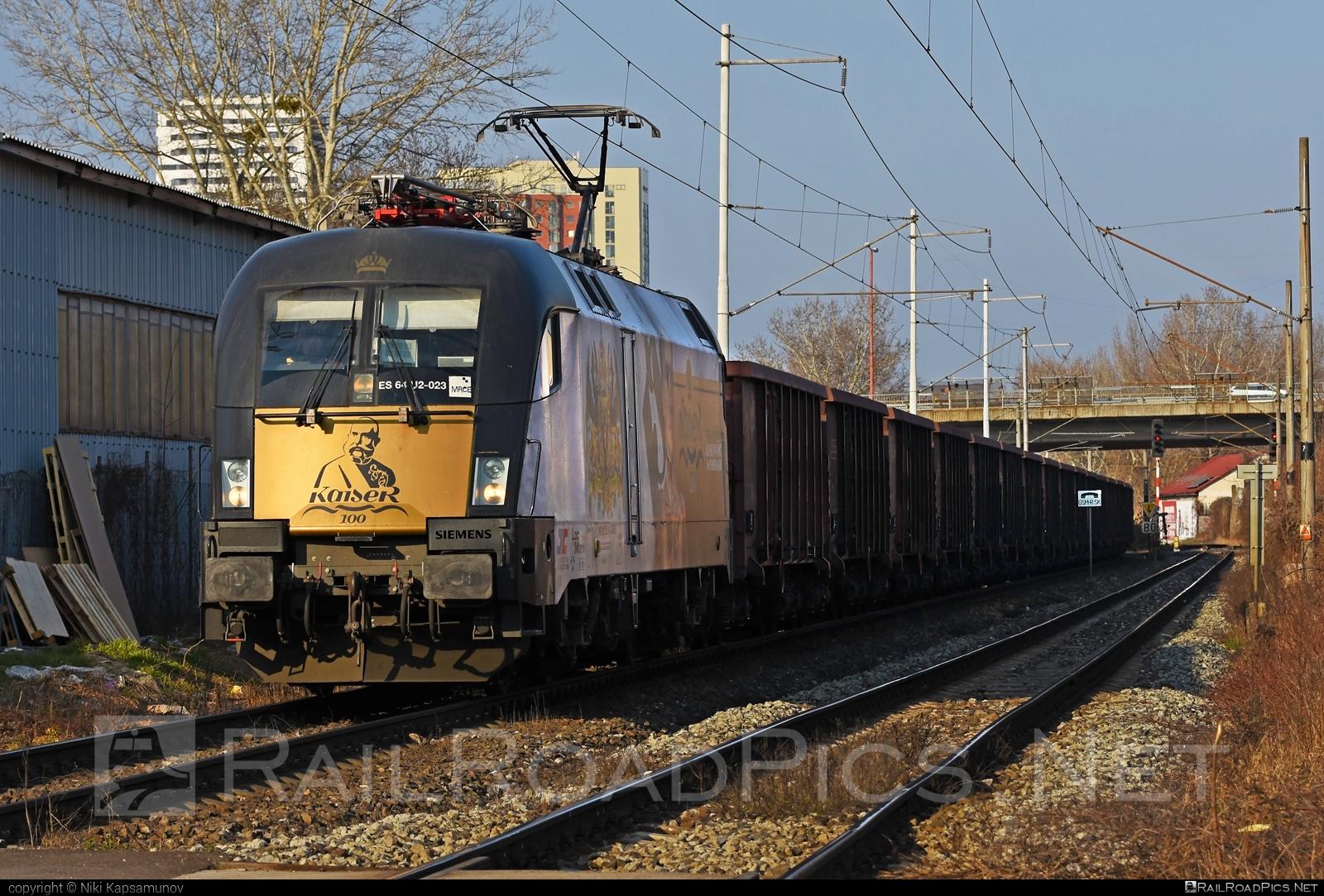 Siemens ES 64 U2 - 182 523-1 operated by Netzwerkbahn Sachsen GmbH #dispolok #es64 #es64u #es64u2 #eurosprinter #kaiser #mitsuirailcapitaleurope #mitsuirailcapitaleuropegmbh #mrce #nes #siemens #siemenses64 #siemenses64u #siemenses64u2 #siemenstaurus #taurus #tauruslocomotive