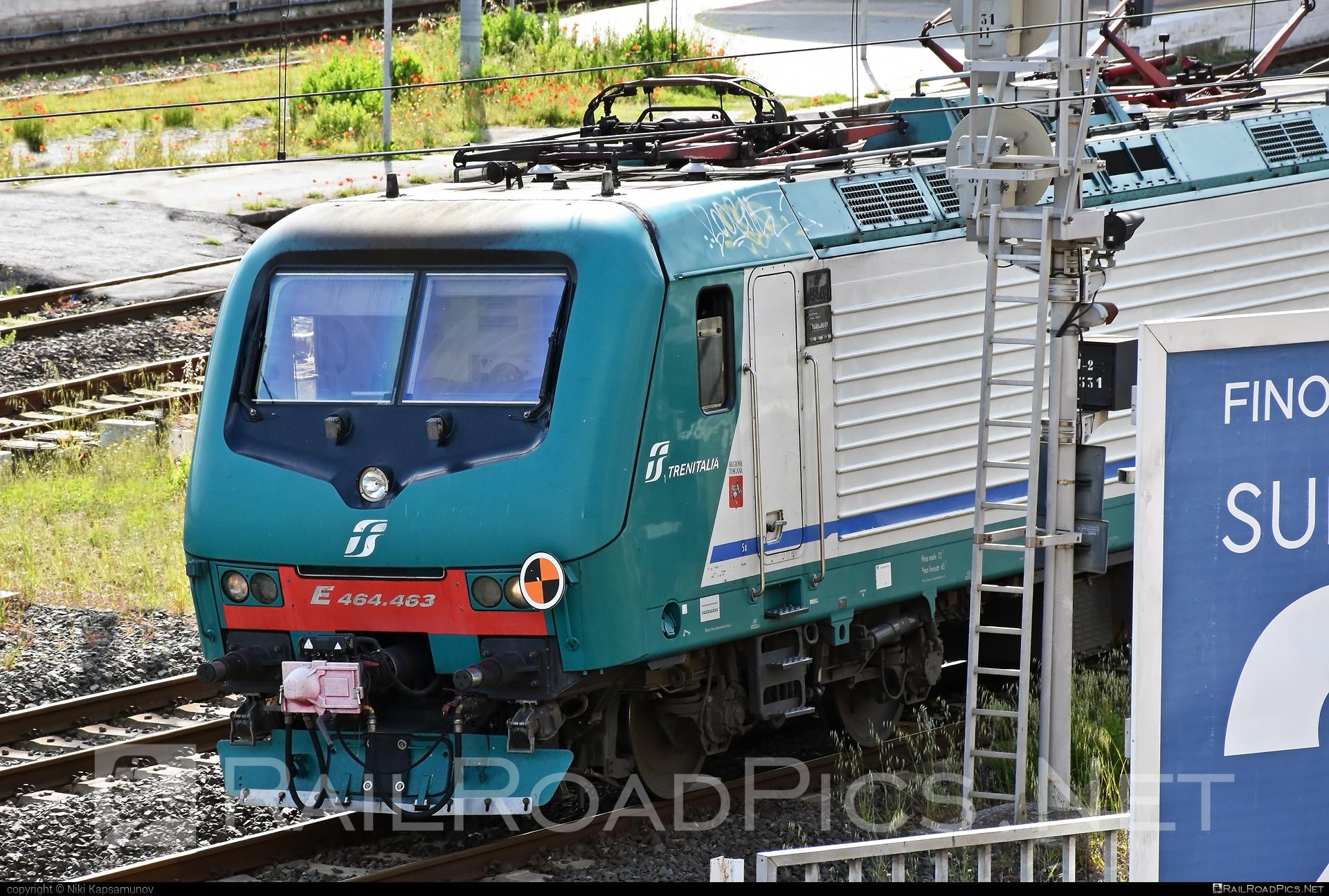 Bombardier TRAXX P160 DCP - E 464.463 operated by Trenitalia S.p.A. #bombardier #bombardiertraxx #ferroviedellostato #fs #fsitaliane #traxx #traxxp160 #traxxp160dcp #trenitalia #trenitaliaspa