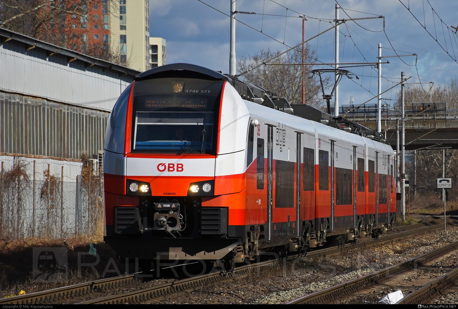 Siemens Desiro ML - 4746 571 operated by Österreichische Bundesbahnen #cityjet #desiro #desiroml #obb #obbcityjet #osterreichischebundesbahnen #siemens #siemensdesiro #siemensdesiroml