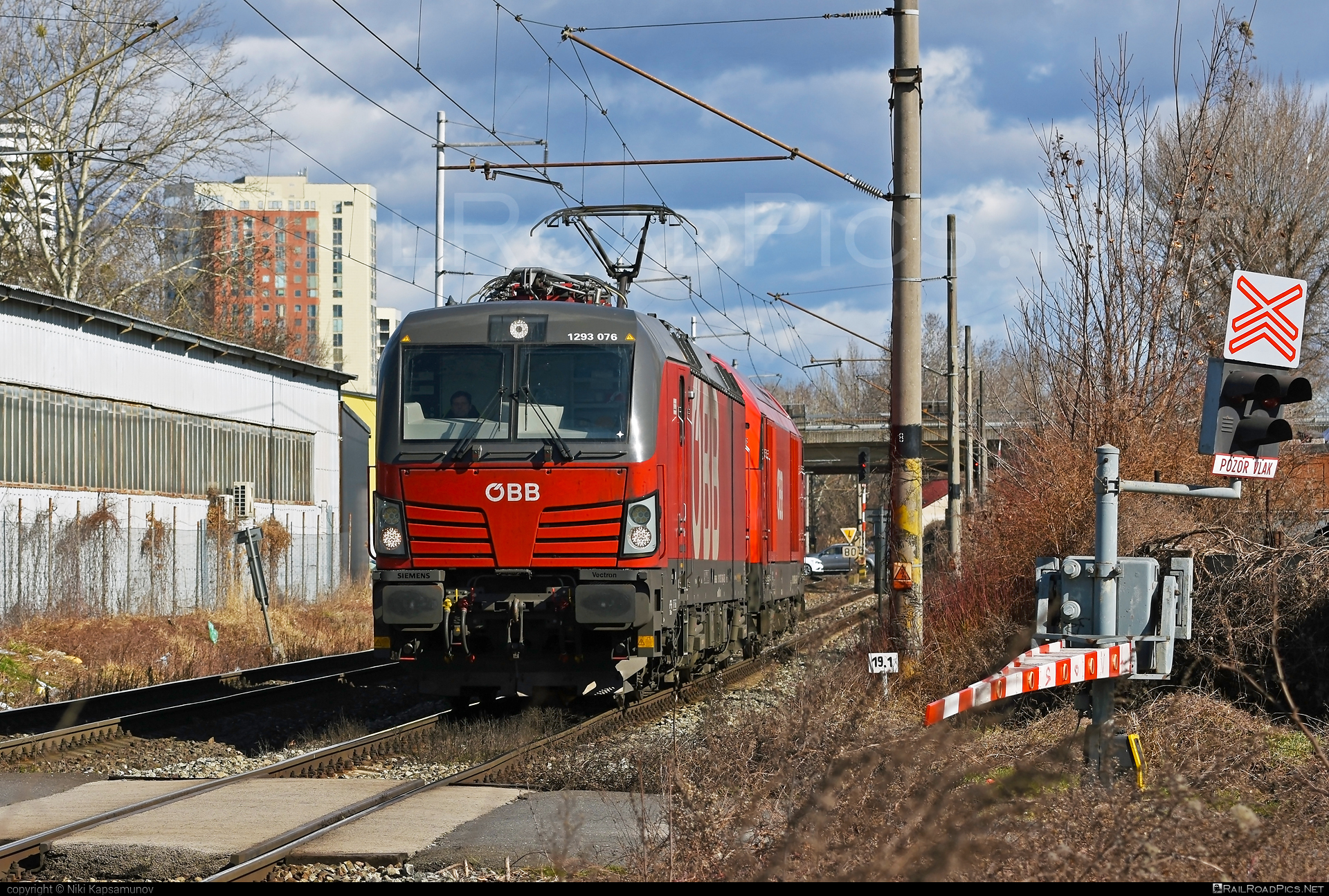 Siemens Vectron MS - 1293 076 operated by Rail Cargo Carrier – Slovakia s.r.o. #obb #osterreichischebundesbahnen #rccsk #siemens #siemensvectron #siemensvectronms #vectron #vectronms #wssk