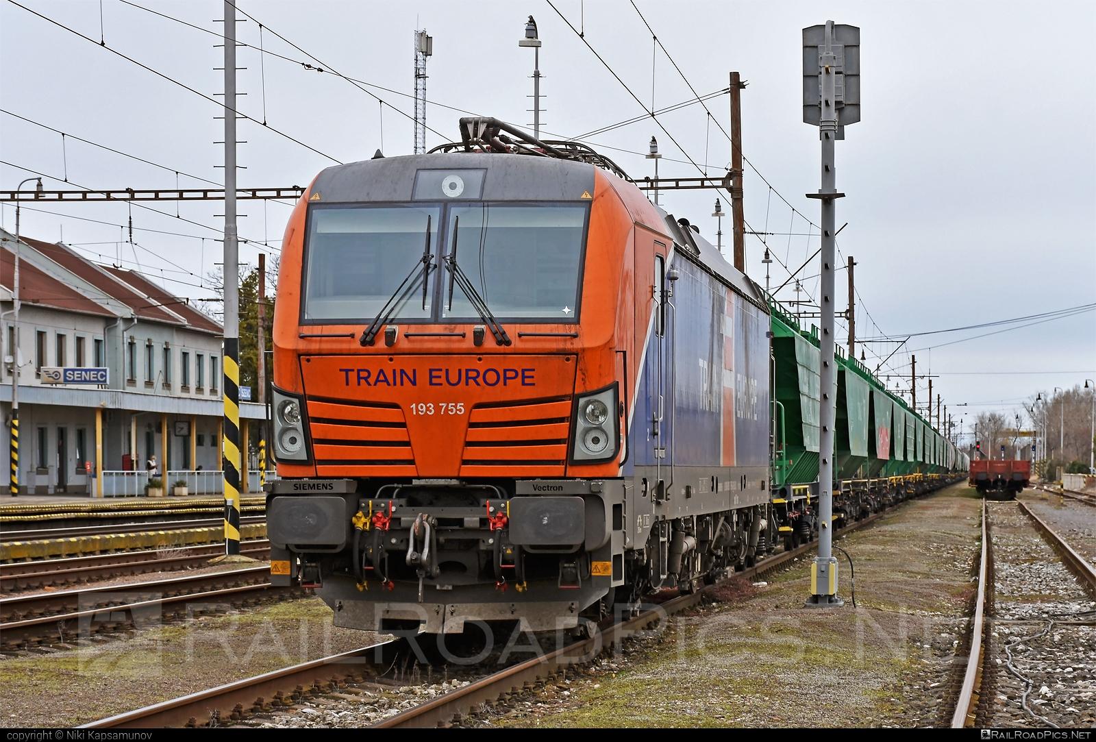 Siemens Vectron MS - 193 755 operated by LOKORAIL, a.s. #ell #ellgermany #eloc #europeanlocomotiveleasing #hopperwagon #lokorail #lrl #siemens #siemensvectron #siemensvectronms #traineurope #vectron #vectronms