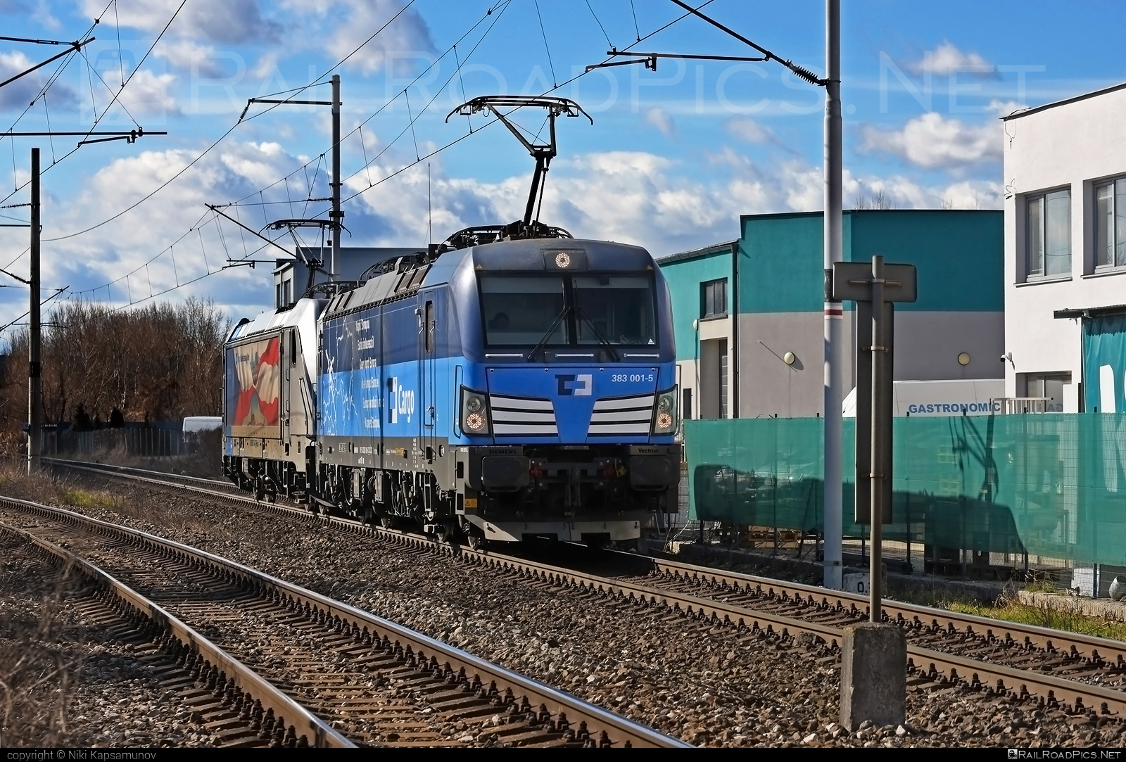 Siemens Vectron MS - 383 001-5 operated by ČD Cargo, a.s. #cdcargo #cdcargoniederlassungwien #siemens #siemensvectron #siemensvectronms #vectron #vectronms