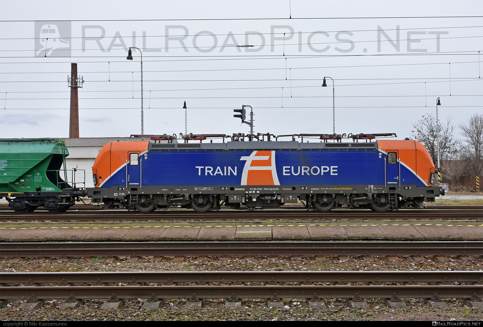 Siemens Vectron MS - 193 755 operated by LOKORAIL, a.s. #ell #ellgermany #eloc #europeanlocomotiveleasing #lokorail #lrl #siemens #siemensvectron #siemensvectronms #traineurope #vectron #vectronms
