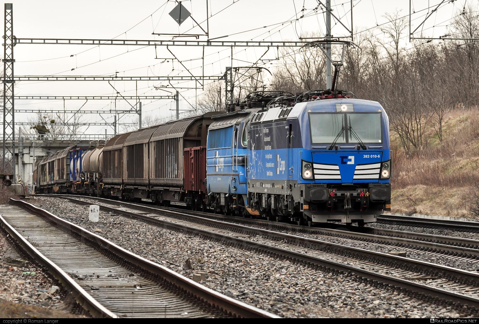 Siemens Vectron MS - 383 010-6 operated by Železničná Spoločnost' Cargo Slovakia a.s. #ZeleznicnaSpolocnostCargoSlovakia #cdcargo #siemens #siemensvectron #siemensvectronms #vectron #vectronms #zsskcargo