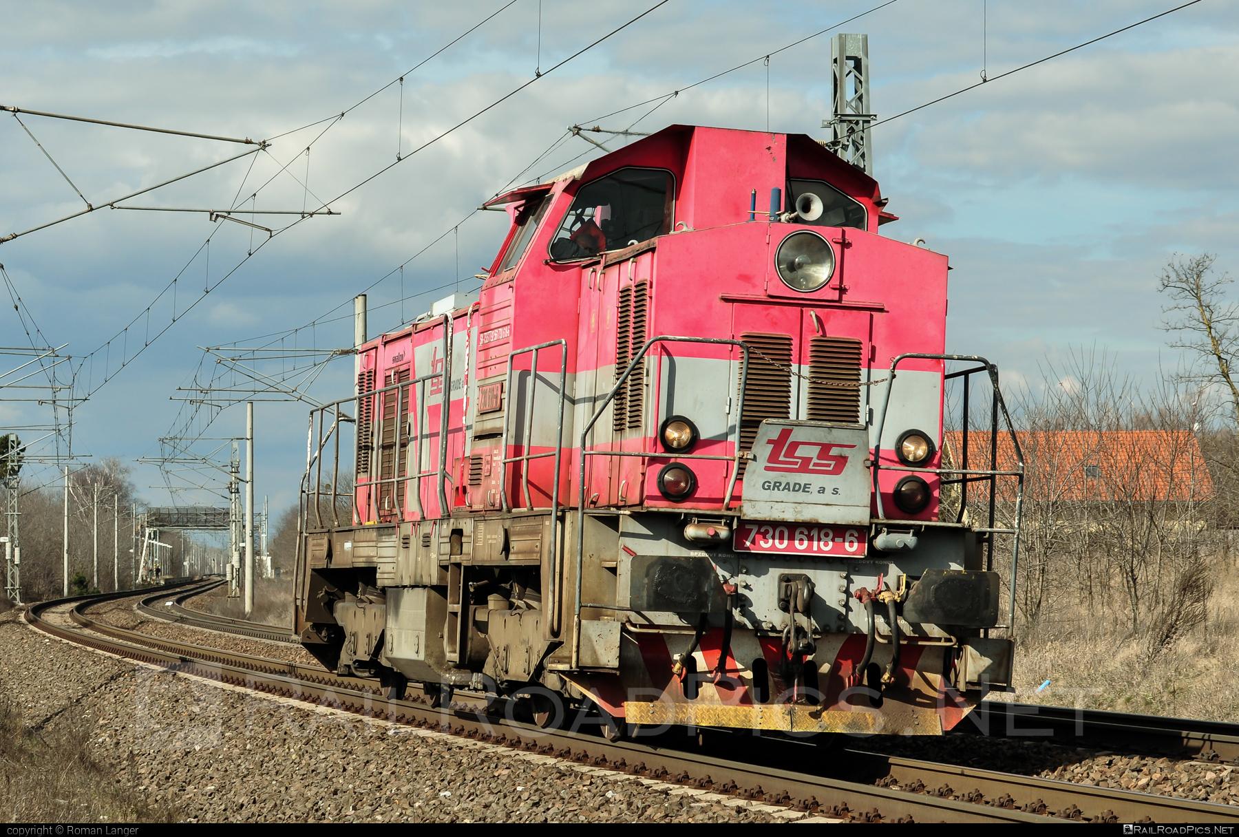 ČKD T 457 (730) - 730 618-6 operated by TSS GRADE, a.s. #ckd #ckd457 #ckd730 #ckdt457 #ponorka #tss #tssgrade