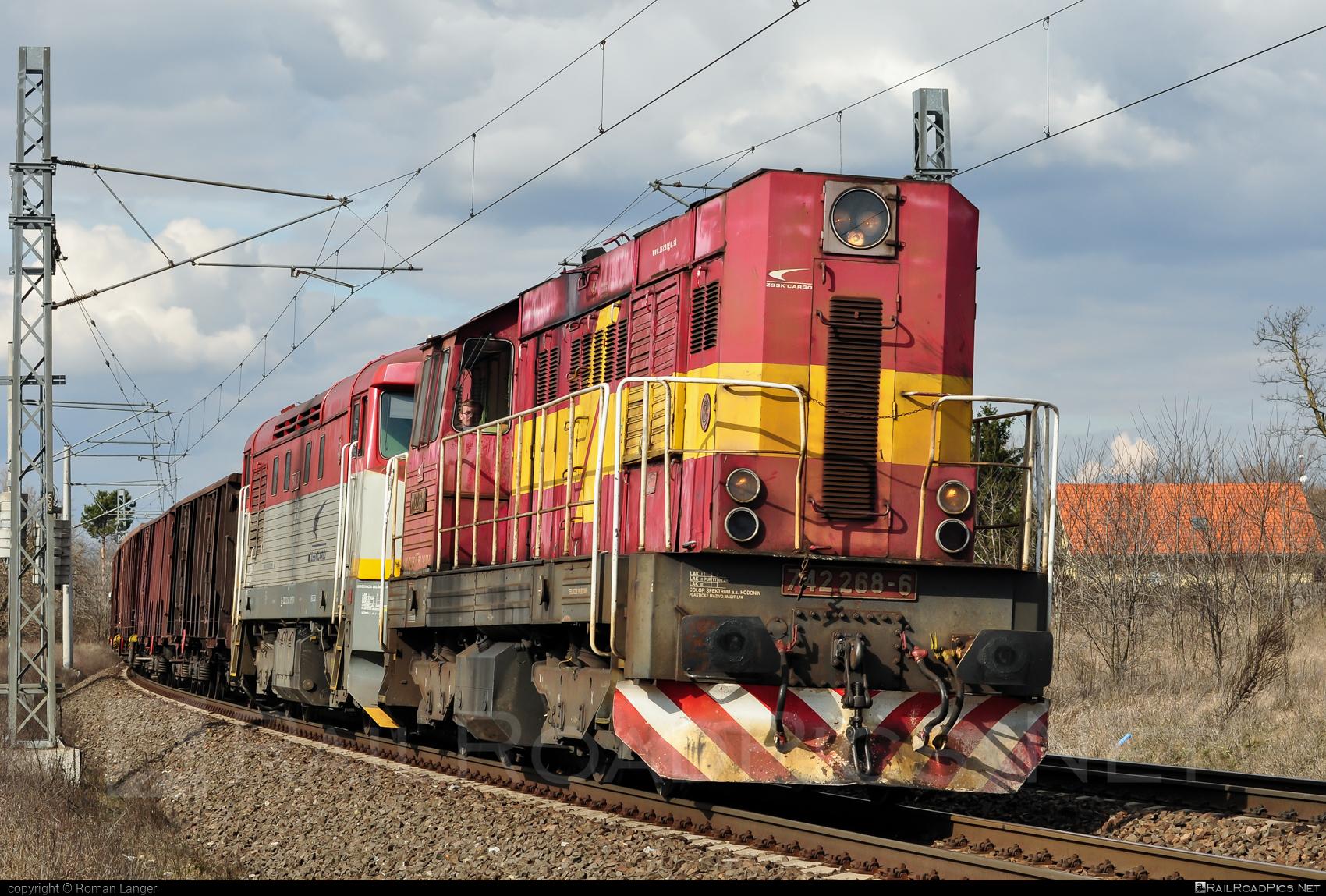 ČKD T 466.2 (742) - 742 268-6 operated by Železničná Spoločnost' Cargo Slovakia a.s. #ZeleznicnaSpolocnostCargoSlovakia #ckd #ckd4662 #ckd742 #ckdt4662 #zsskcargo