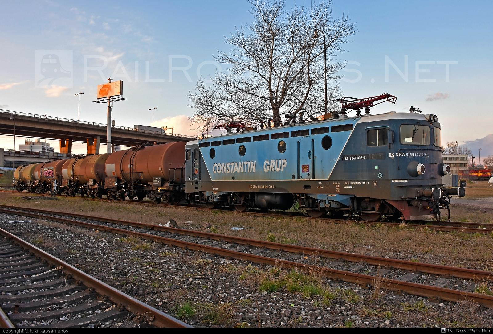 Končar JŽ class 441 - 241 005-8 operated by CENTRAL RAILWAYS s.r.o. #centralrailways #constantingrup #crw #jz441 #kesselwagen #koncar #koncar441 #tankwagon