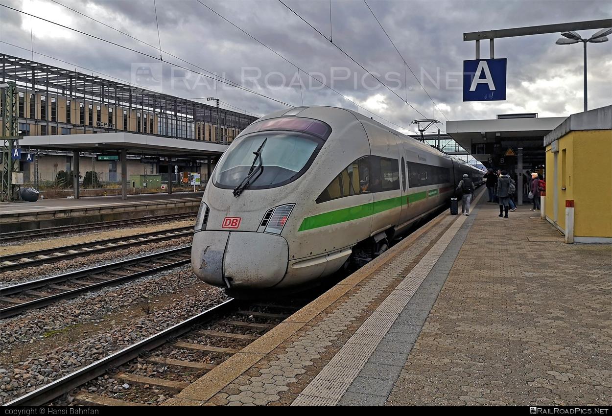 Consortium DWA ICE T - 411 053-2 operated by Deutsche Bahn / DB AG #consortiumdwa #db #dbicet #deutschebahn #dwa #icet #icettrain