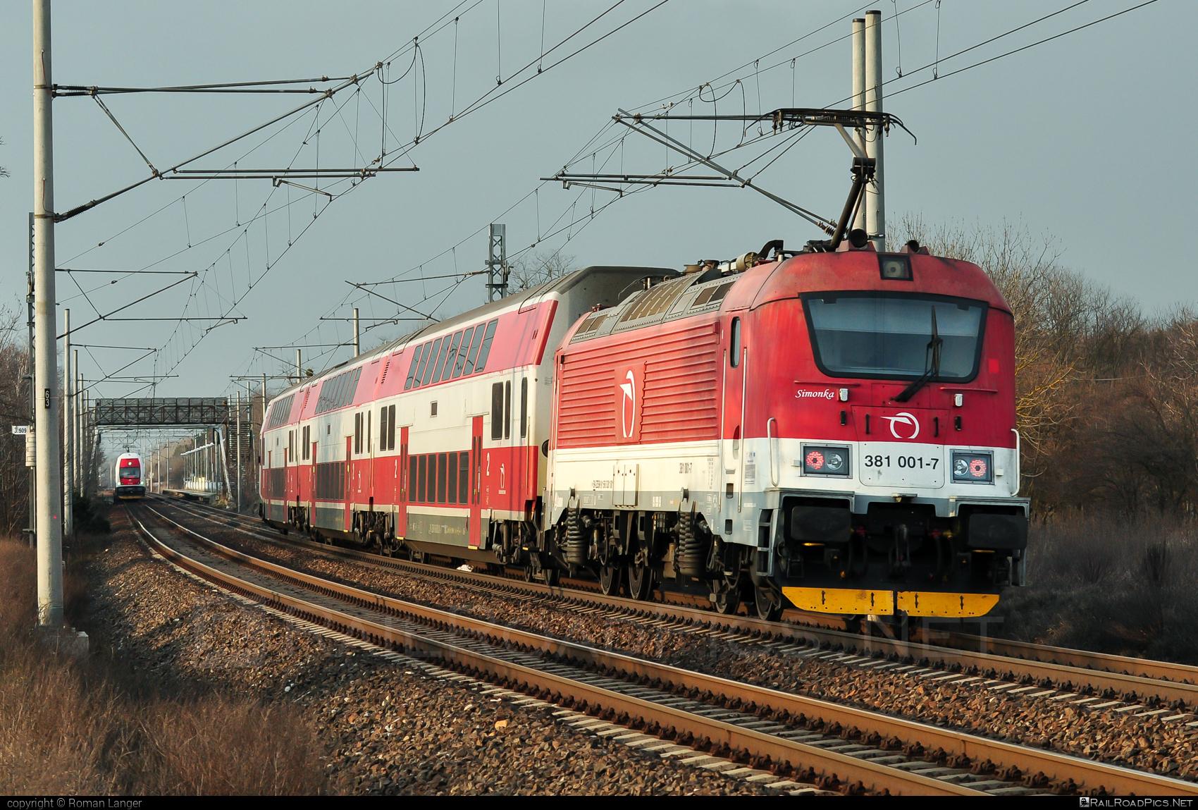 Škoda 109E2 Emil Zátopek - 381 001-7 operated by Železničná Spoločnost' Slovensko, a.s. #ZeleznicnaSpolocnostSlovensko #emilzatopeklocomotive #locomotive381 #skoda #skoda109e #skoda109elocomotive #zssk