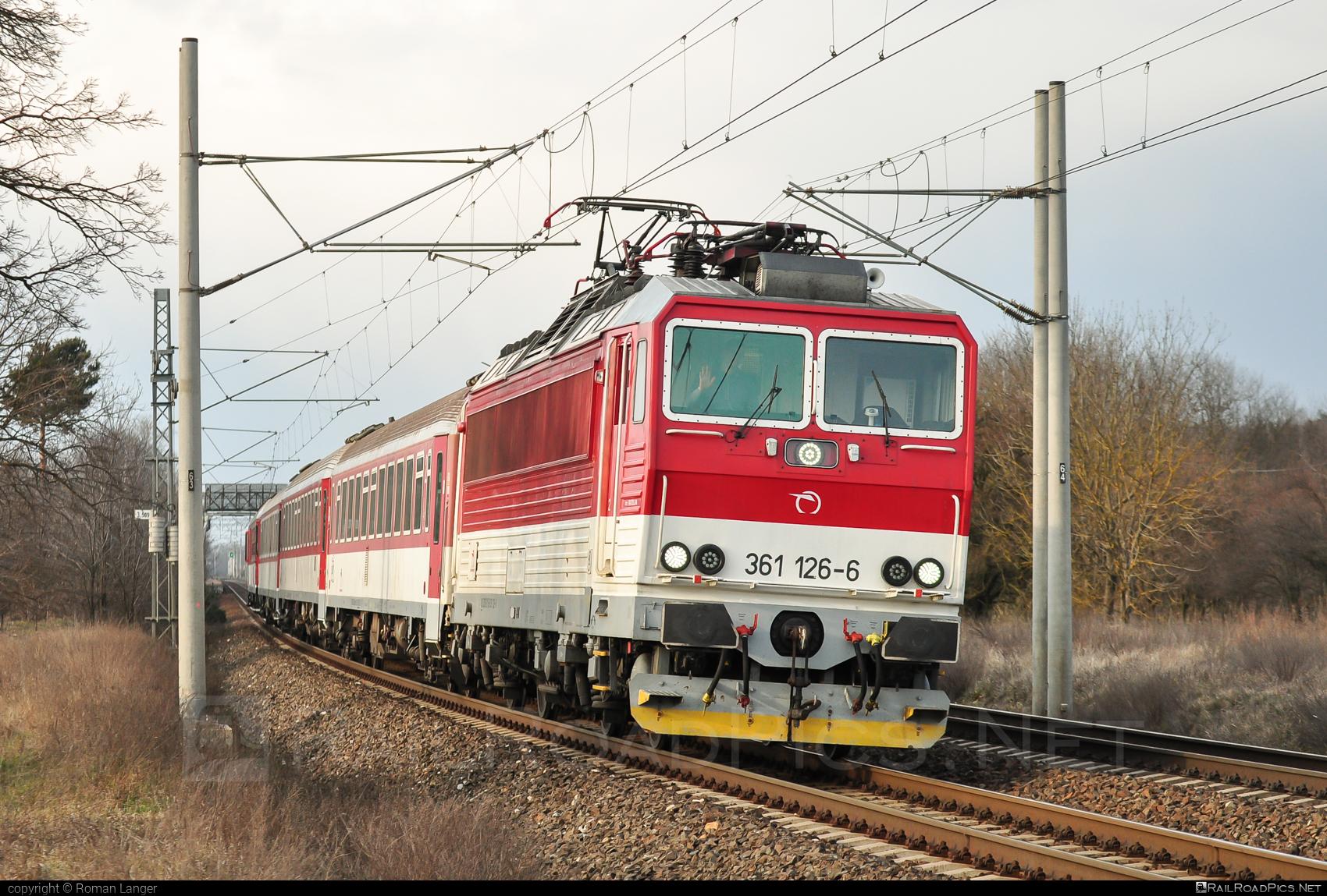 ŽOS Vrútky Class 361.1 - 361 126-6 operated by Železničná Spoločnost' Slovensko, a.s. #ZeleznicnaSpolocnostSlovensko #locomotive361 #locomotive3611 #zosvrutky #zssk