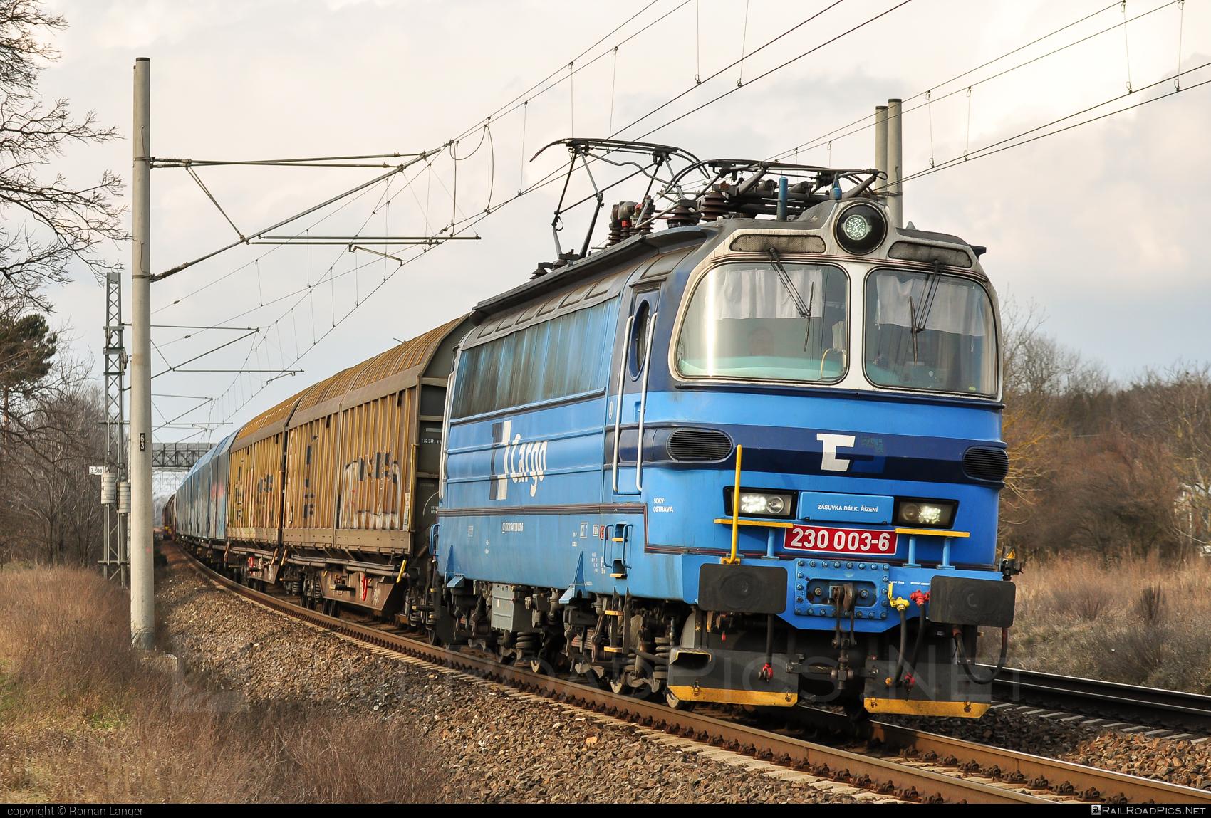 Škoda 47E - 230 003-6 operated by ČD Cargo, a.s. #cdcargo #laminatka #locomotive240 #skoda #skoda47e