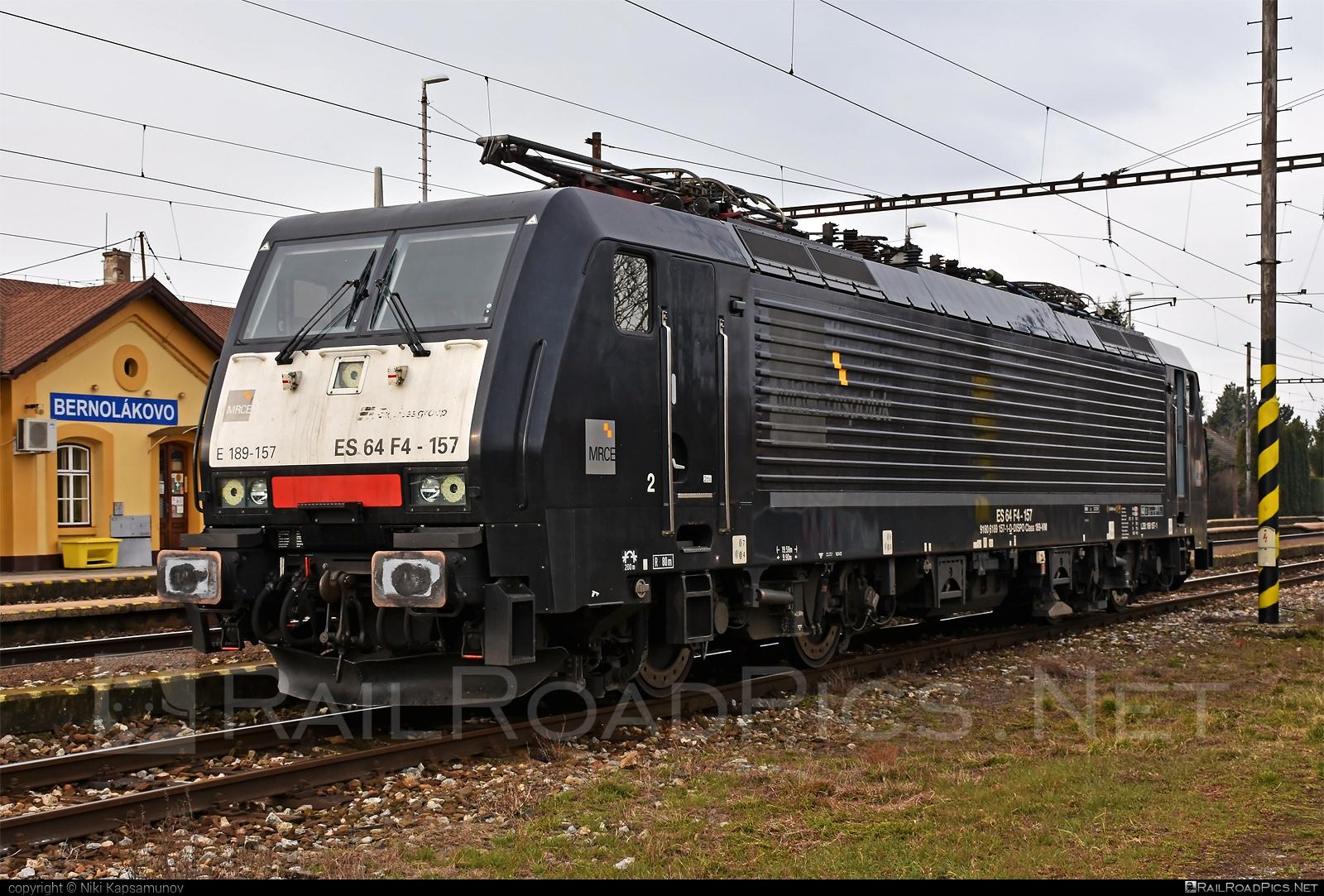 Siemens ES 64 F4 - 189 157-1 operated by Retrack Slovakia s. r. o. #dispolok #es64 #es64f4 #eurosprinter #mitsuirailcapitaleurope #mitsuirailcapitaleuropegmbh #mrce #retrackslovakia #siemens #siemenses64 #siemenses64f4