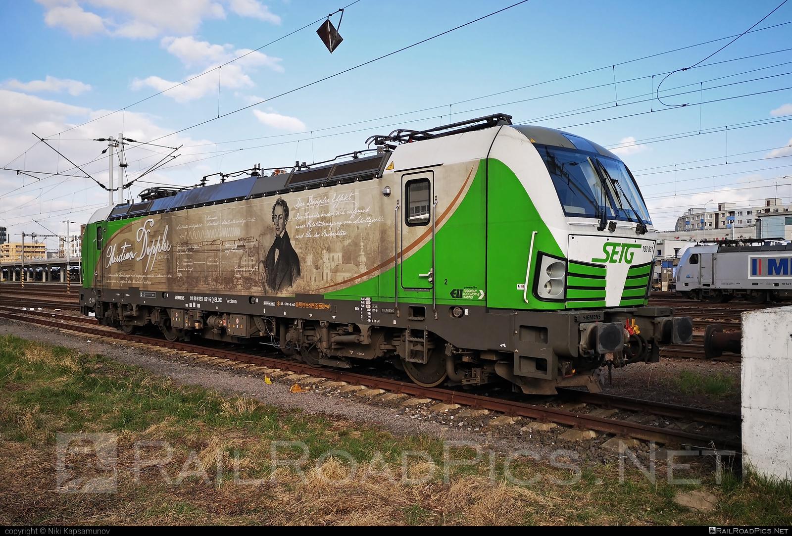 Siemens Vectron AC - 193 831 operated by Salzburger Eisenbahn Transportlogistik GmbH #SalzburgerEisenbahnTransportlogistik #SalzburgerEisenbahnTransportlogistikGmbH #ell #ellgermany #eloc #europeanlocomotiveleasing #setg #siemens #siemensvectron #siemensvectronac #vectron #vectronac