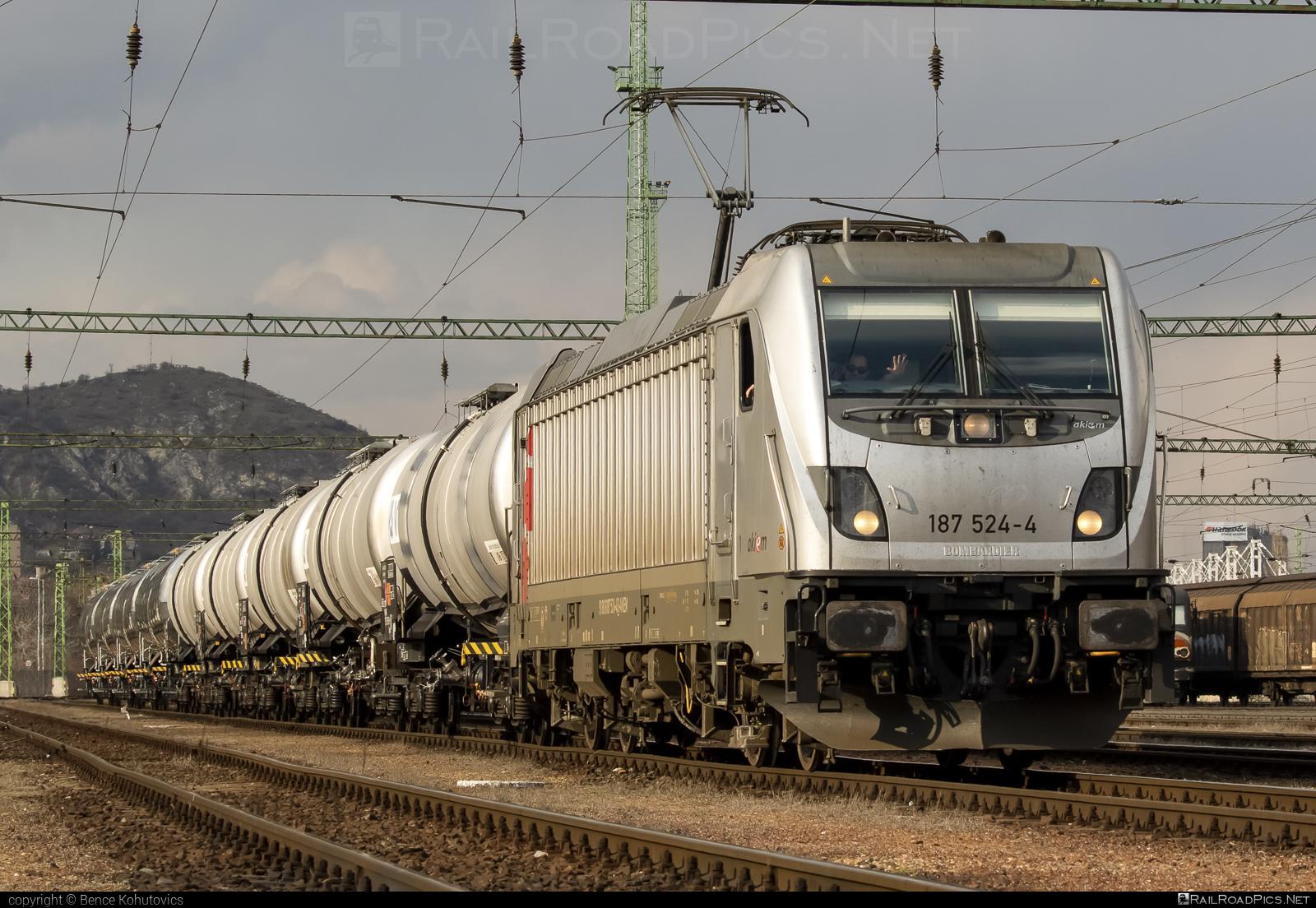 Bombardier TRAXX F140 AC3 - 187 524-4 operated by LTE Hungária Vasúti Árufuvarozó és Logisztikai Kft. #akiem #akiemsas #bombardier #bombardiertraxx #kesselwagen #tankwagon #traxx #traxxf140 #traxxf140ac #traxxf140ac3