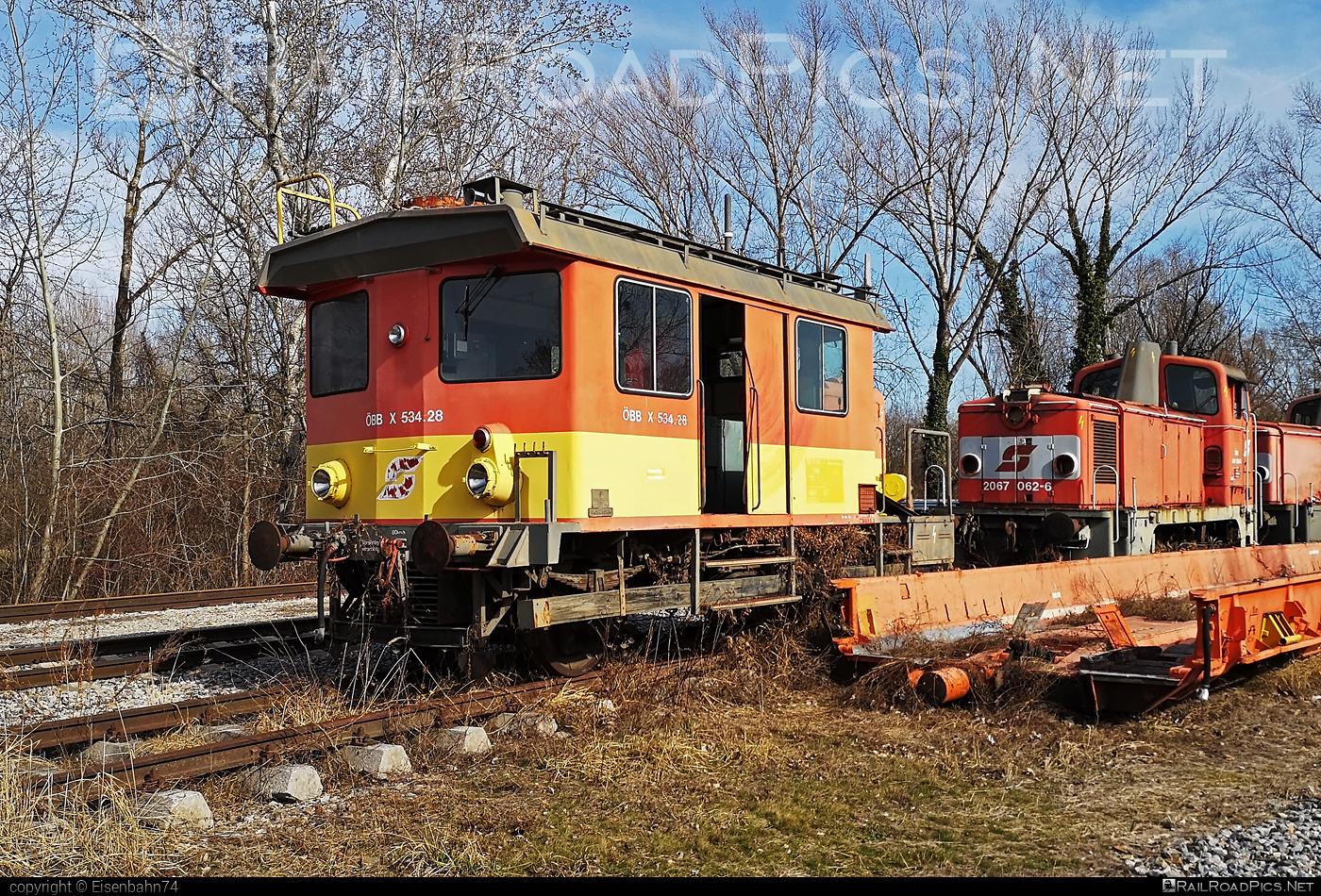 Bombardier / Tobisch / Knotz ÖBB Class X534 - X534.28 operated by Österreichische Bundesbahnen #BombardierTobischKnotz #OBBx534 #bombardier #knotz #obb #osterreichischebundesbahnen #tobisch #x534