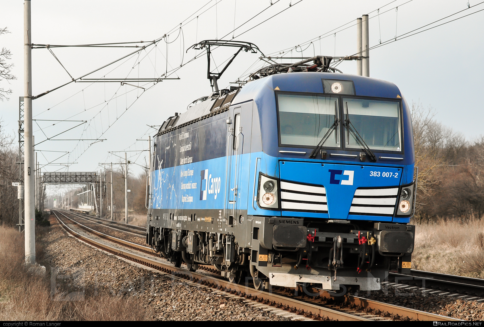 Siemens Vectron MS - 383 007-2 operated by ČD Cargo, a.s. #cdcargo #siemens #siemensvectron #siemensvectronms #vectron #vectronms