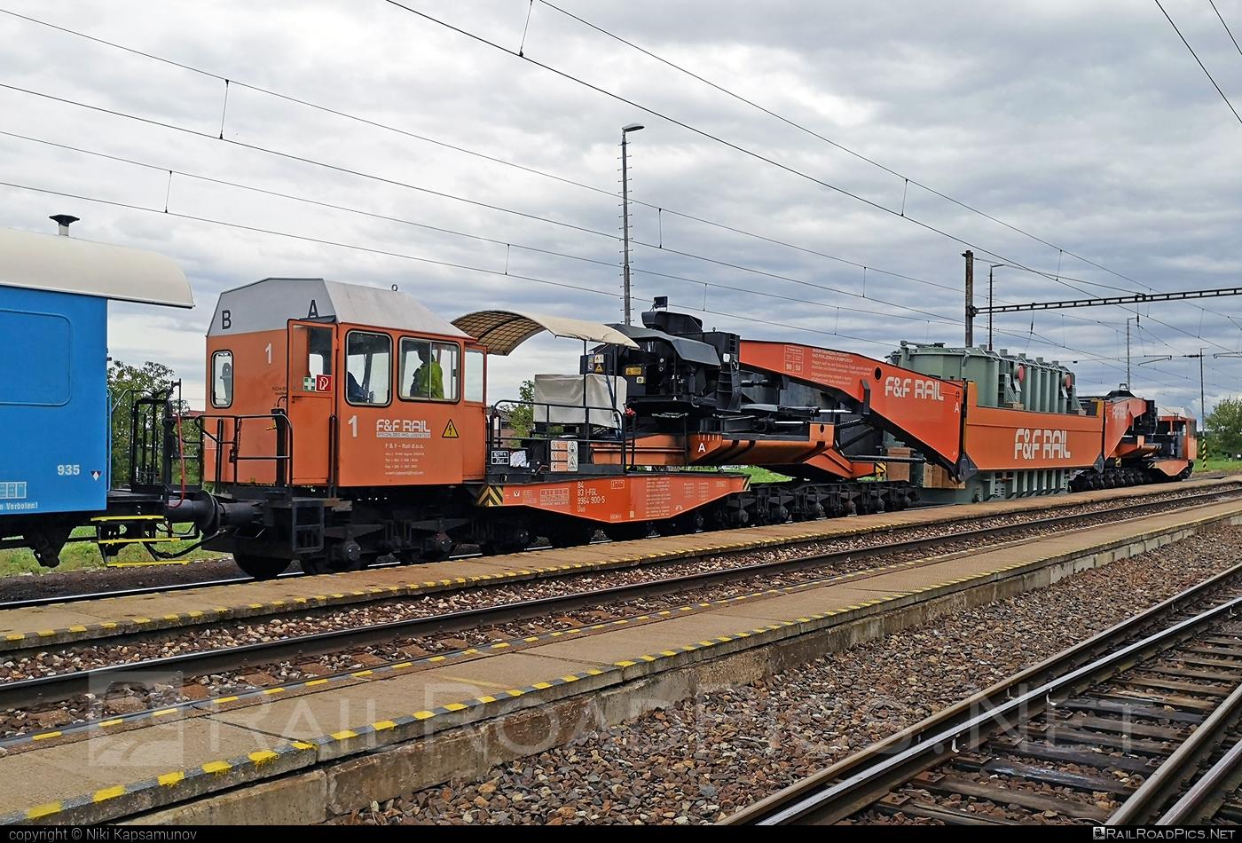 Class U - Uaai - 84 83 9964 900-5 I-FGL operated by F&F Rail d.o.o. #FFrail #FFrailDoo #uaai