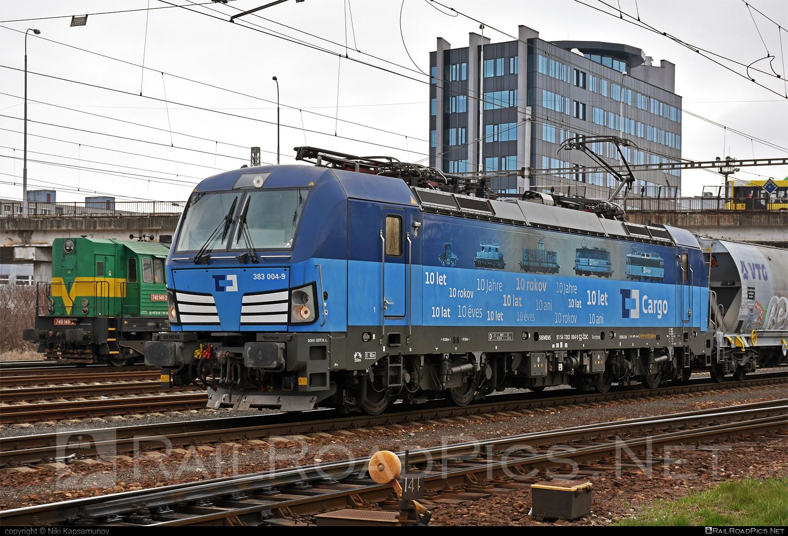 Siemens Vectron MS - 383 004-9 operated by Železničná Spoločnost' Cargo Slovakia a.s. #ZeleznicnaSpolocnostCargoSlovakia #cdcargo #siemens #siemensvectron #siemensvectronms #vectron #vectronms #zsskcargo