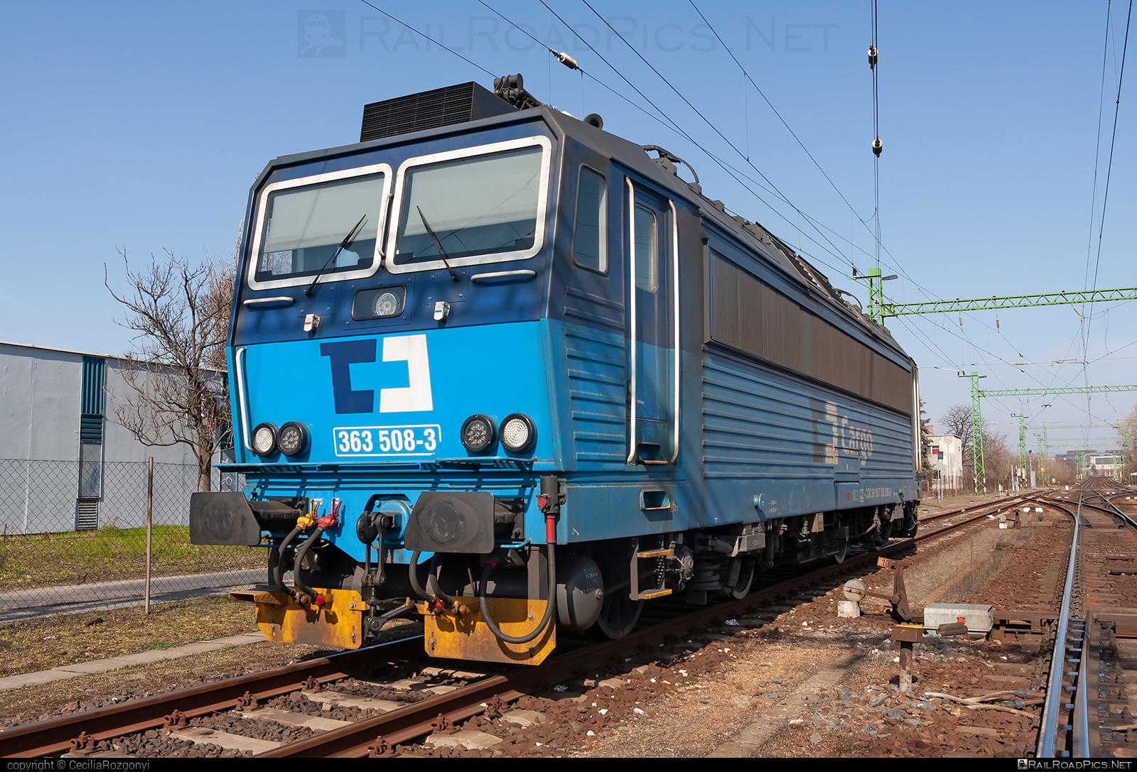 Škoda 71Em - 363 508-3 operated by ČD Cargo, a.s. #cdcargo #cdclass3635 #skoda #skoda71em