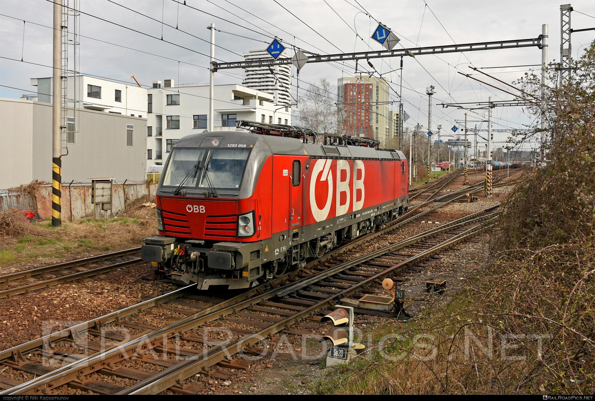 Siemens Vectron MS - 1293 058 operated by Rail Cargo Austria AG #obb #osterreichischebundesbahnen #siemens #siemensvectron #siemensvectronms #vectron #vectronms