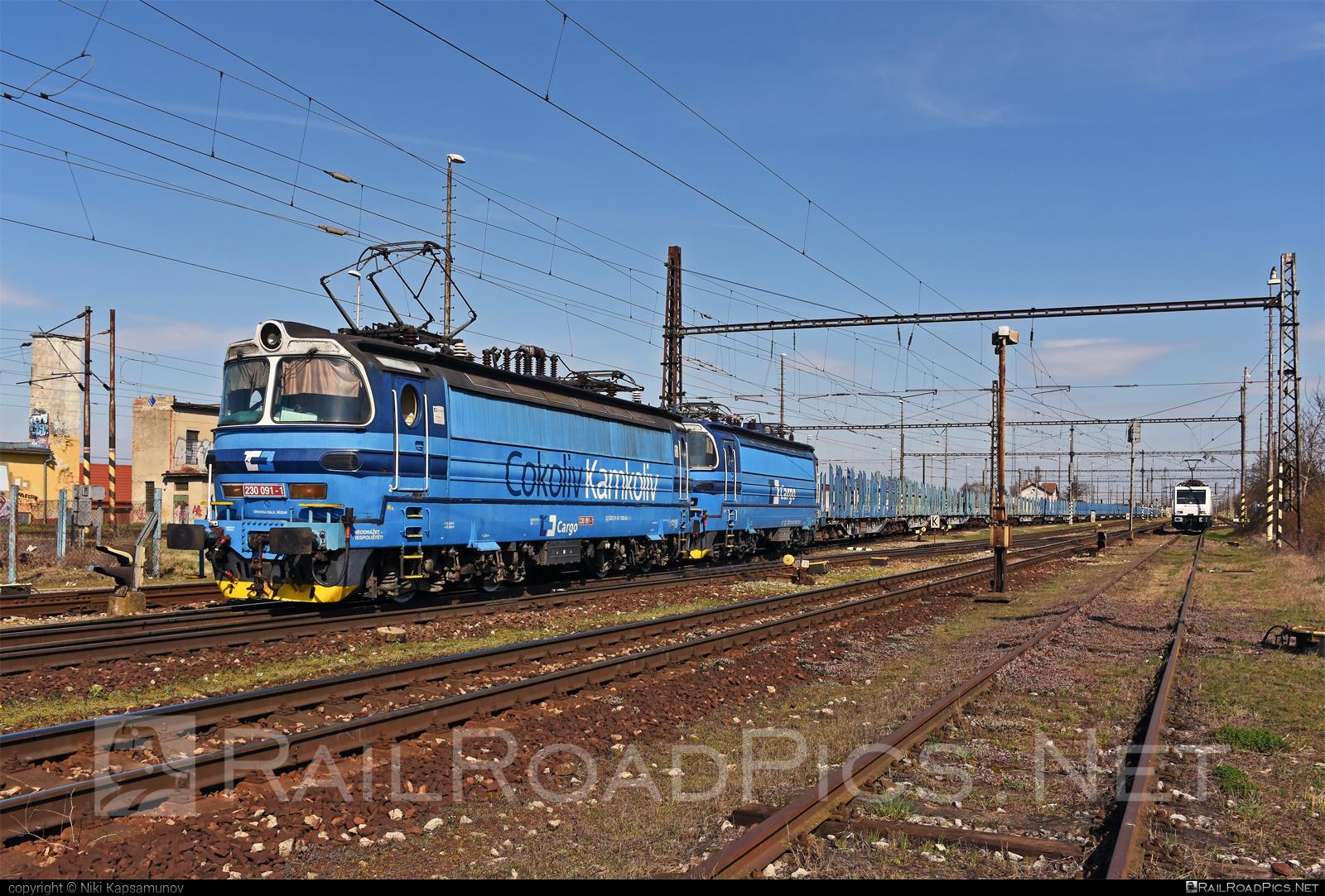 Škoda 47E - 230 091-1 operated by Železničná Spoločnost' Cargo Slovakia a.s. #ZeleznicnaSpolocnostCargoSlovakia #cdcargo #laminatka #locomotive240 #skoda #skoda47e #zsskcargo