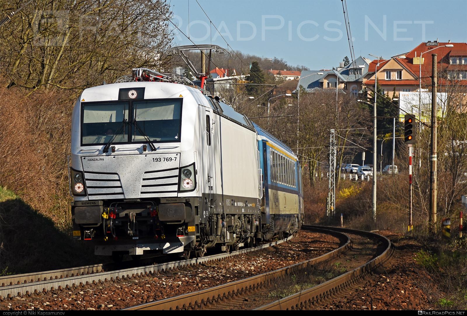 Siemens Vectron MS - 193 769-7 operated by České dráhy, a.s. #RollingStockLease #RollingStockLeaseSro #cd #ceskedrahy #raill #siemens #siemensvectron #siemensvectronms #vectron #vectronms