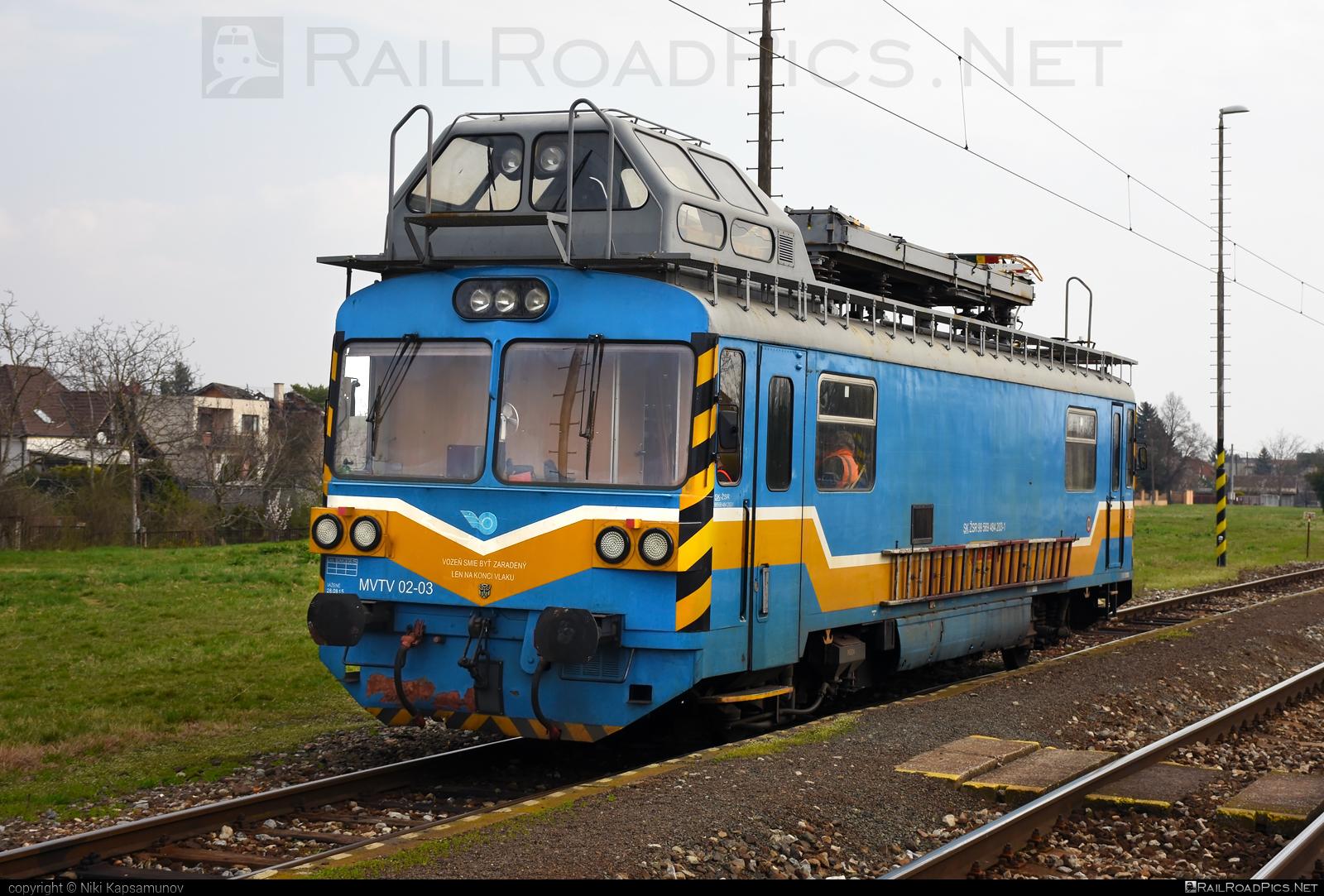 Vagónka Studénka MVTV 02 - MVTV 02-03 operated by Železnice Slovenskej Republiky #locomotivemvtv #mvtv02 #mvtv2 #vagonkastudenka #zelezniceslovenskejrepubliky #zsr
