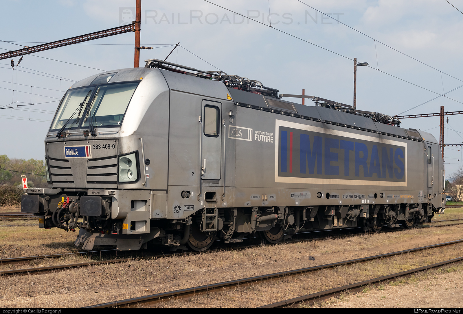 Siemens Vectron MS - 383 409-0 operated by METRANS, a.s. #hhla #metrans #siemens #siemensvectron #siemensvectronms #vectron #vectronms
