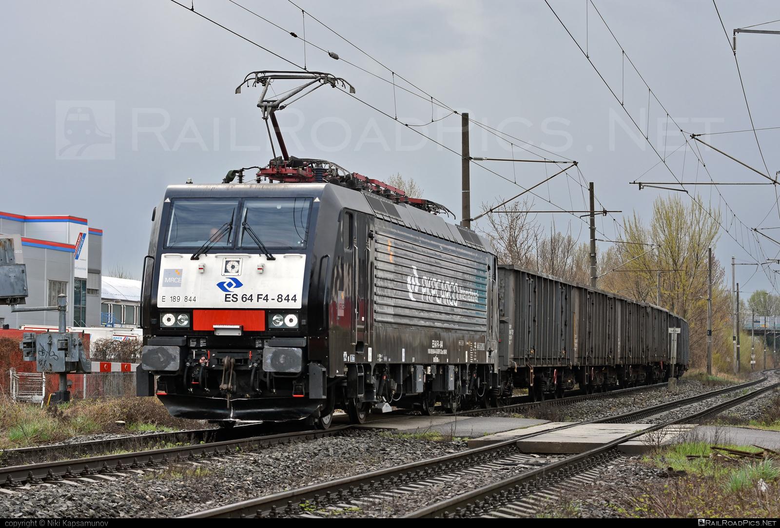 Siemens ES 64 F4 - 189 844 operated by PKP CARGO INTERNATIONAL a.s. #dispolok #es64 #es64f4 #eurosprinter #mitsuirailcapitaleurope #mitsuirailcapitaleuropegmbh #mrce #pkpcargointernational #pkpcargointernationalas #pkpci #siemens #siemenses64 #siemenses64f4