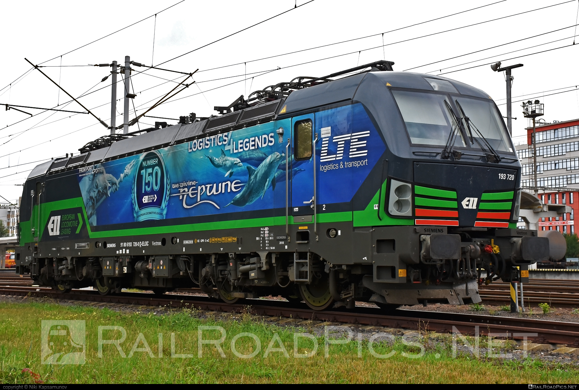 Siemens Vectron MS - 193 720 operated by LTE Logistik und Transport GmbH #ell #ellgermany #eloc #europeanlocomotiveleasing #lte #ltelogistikundtransport #ltelogistikundtransportgmbh #siemens #siemensvectron #siemensvectronms #vectron #vectronms