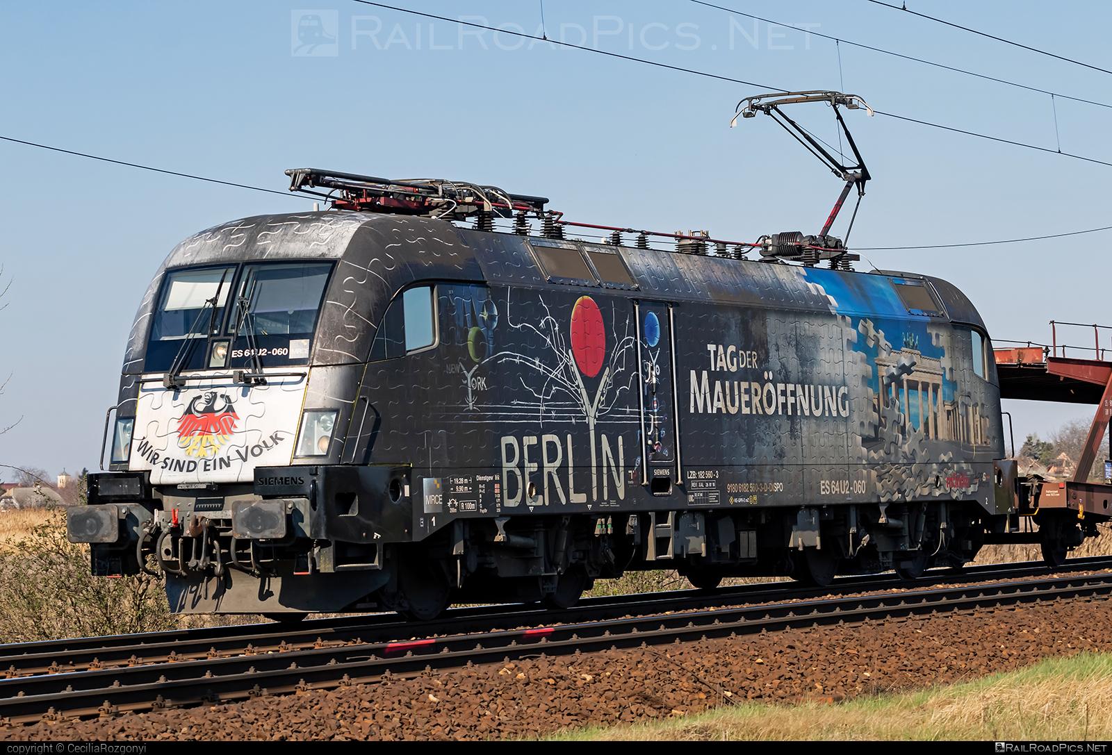 Siemens ES 64 U2 - 182 560 operated by TXLogistik #dispolok #es64 #es64u #es64u2 #eurosprinter #mitsuirailcapitaleurope #mitsuirailcapitaleuropegmbh #mrce #siemens #siemenses64 #siemenses64u #siemenses64u2 #siemenstaurus #taurus #tauruslocomotive #txl #txlogistik
