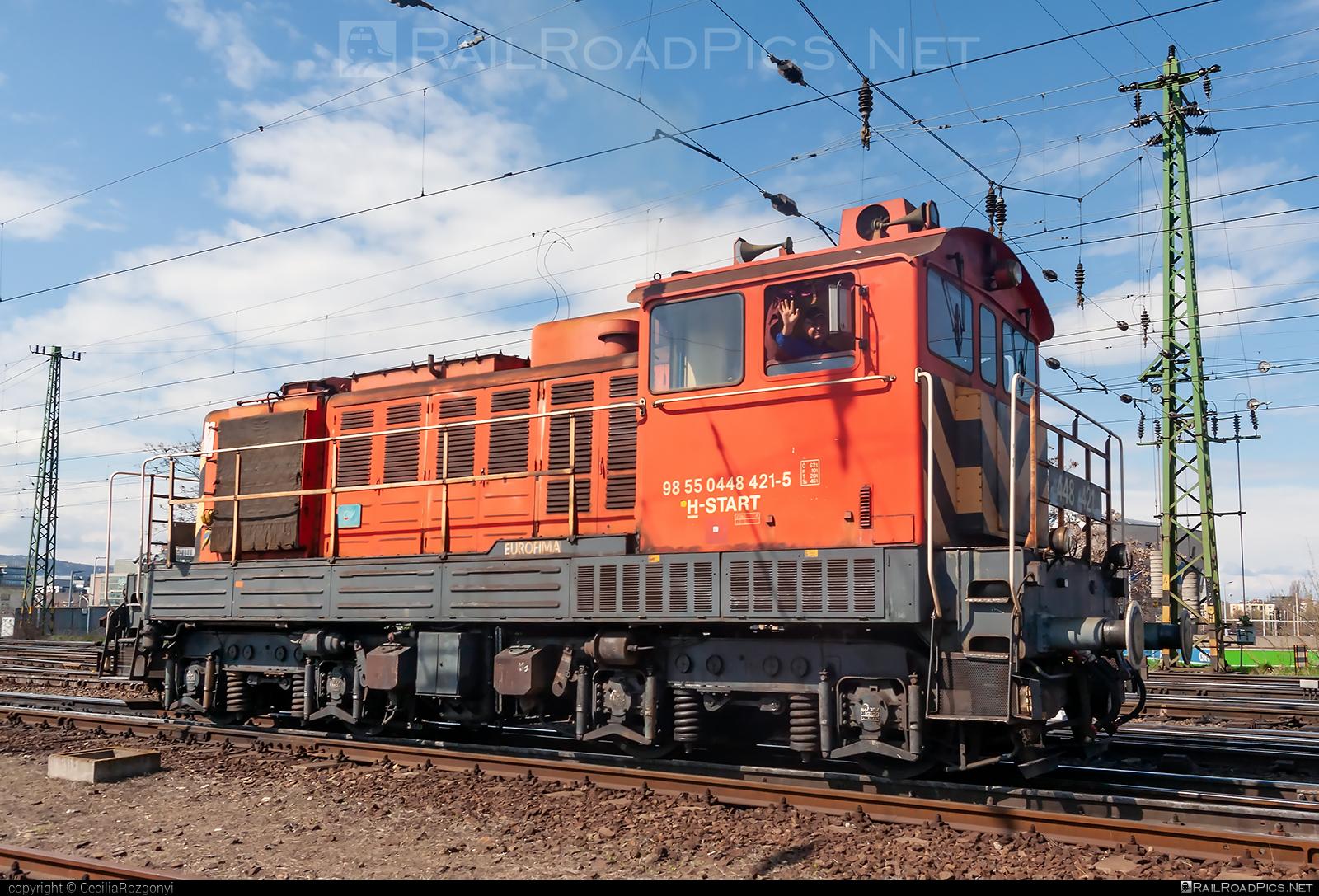Ganz-MÁVAG DVM2-23 - 448 421 operated by MÁV-START ZRt. #dvm2 #dvm223 #ganzmavag #ganzmavagdvm2 #ganzmavagdvm223 #mav #mavstart #mavstartzrt