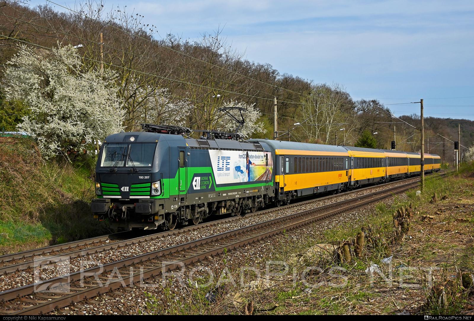 Siemens Vectron MS - 193 207 operated by RegioJet, a.s. #ell #ellgermany #eloc #europeanlocomotiveleasing #lte #regiojet #siemens #siemensvectron #siemensvectronms #vectron #vectronms