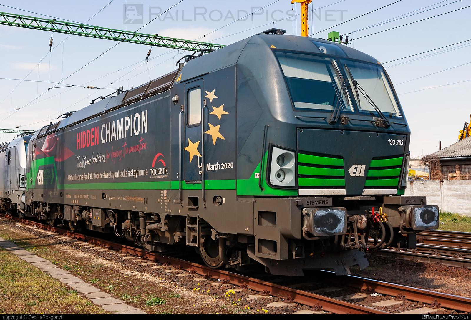 Siemens Vectron AC - 193 203 operated by TXLogistik #ell #ellgermany #eloc #europeanlocomotiveleasing #siemens #siemensvectron #siemensvectronac #txl #txlogistik #vectron #vectronac