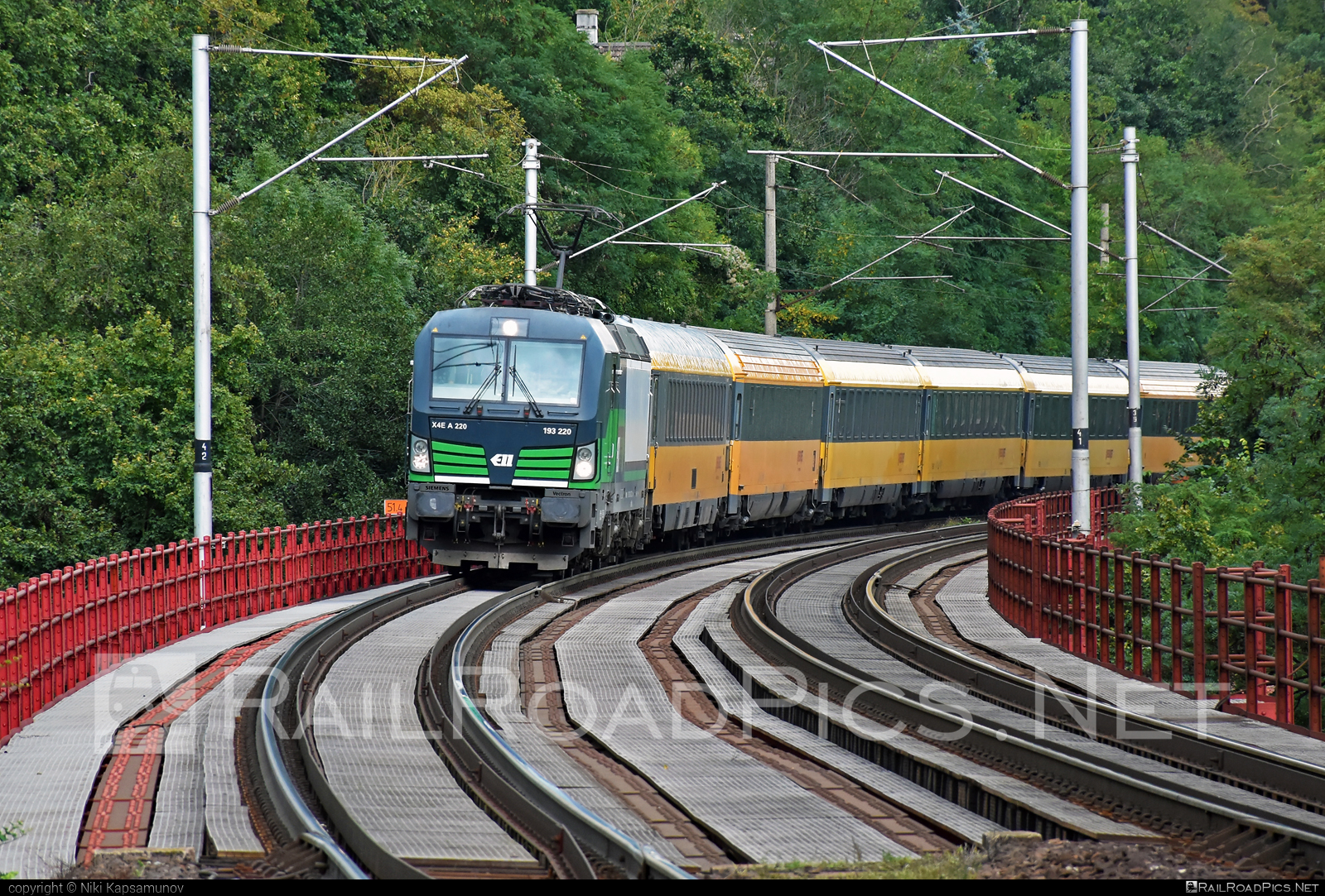 Siemens Vectron MS - 193 220 operated by RegioJet, a.s. #ell #ellgermany #eloc #europeanlocomotiveleasing #regiojet #siemens #siemensvectron #siemensvectronms #vectron #vectronms