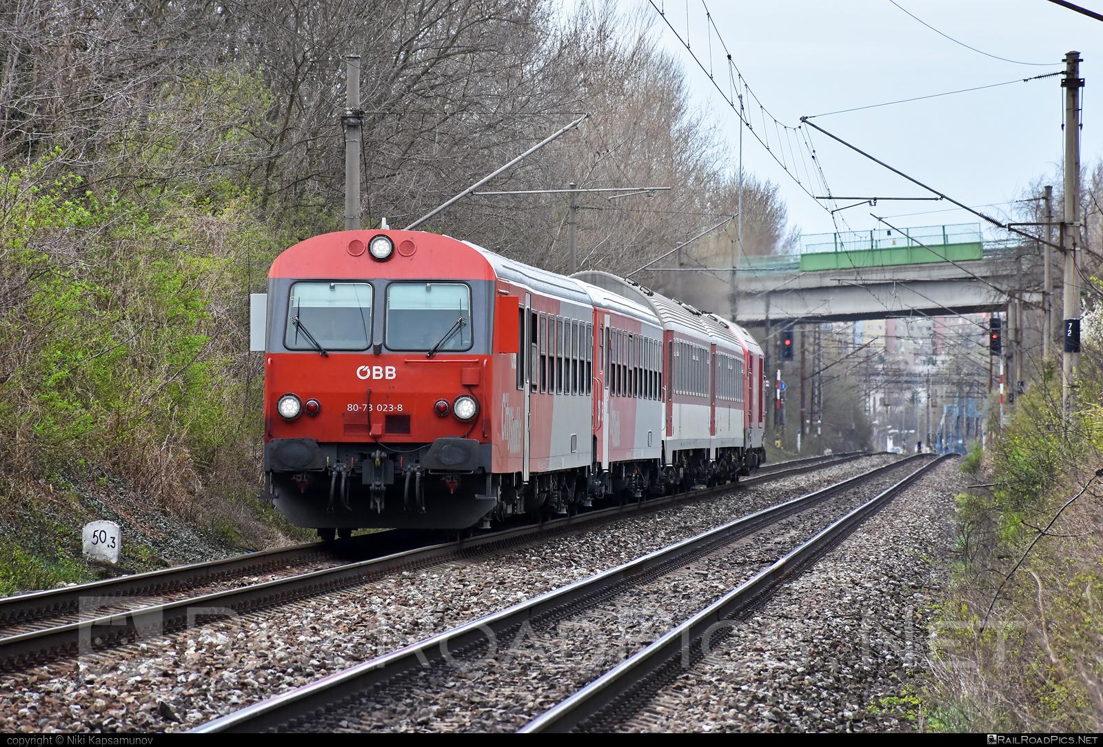 Class B - Bmpz-s - ÖBB CityShuttle control car - ÖBB CityShuttle control car - 80-73 023-8 operated by Österreichische Bundesbahnen #cityshuttle #obb #osterreichischebundesbahnen