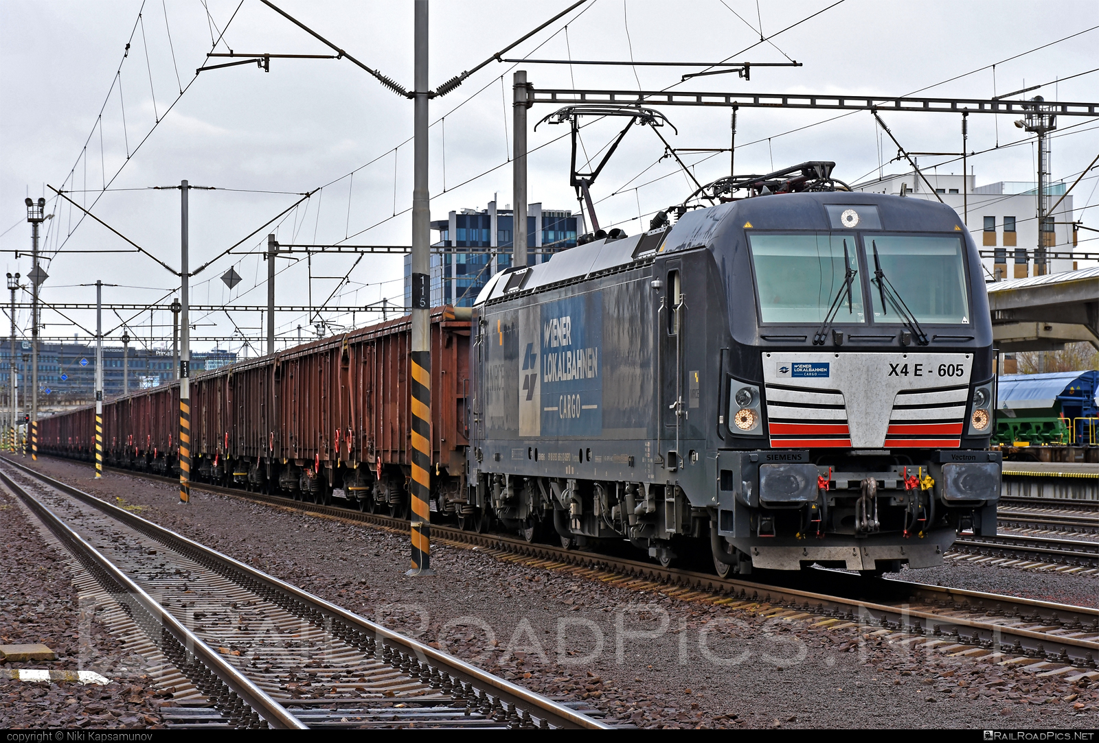 Siemens Vectron AC - 193 605 operated by Wiener Lokalbahnen Cargo GmbH #dispolok #mitsuirailcapitaleurope #mitsuirailcapitaleuropegmbh #mrce #siemens #siemensvectron #siemensvectronac #vectron #vectronac #wienerlokalbahnencargo #wienerlokalbahnencargogmbh #wlc