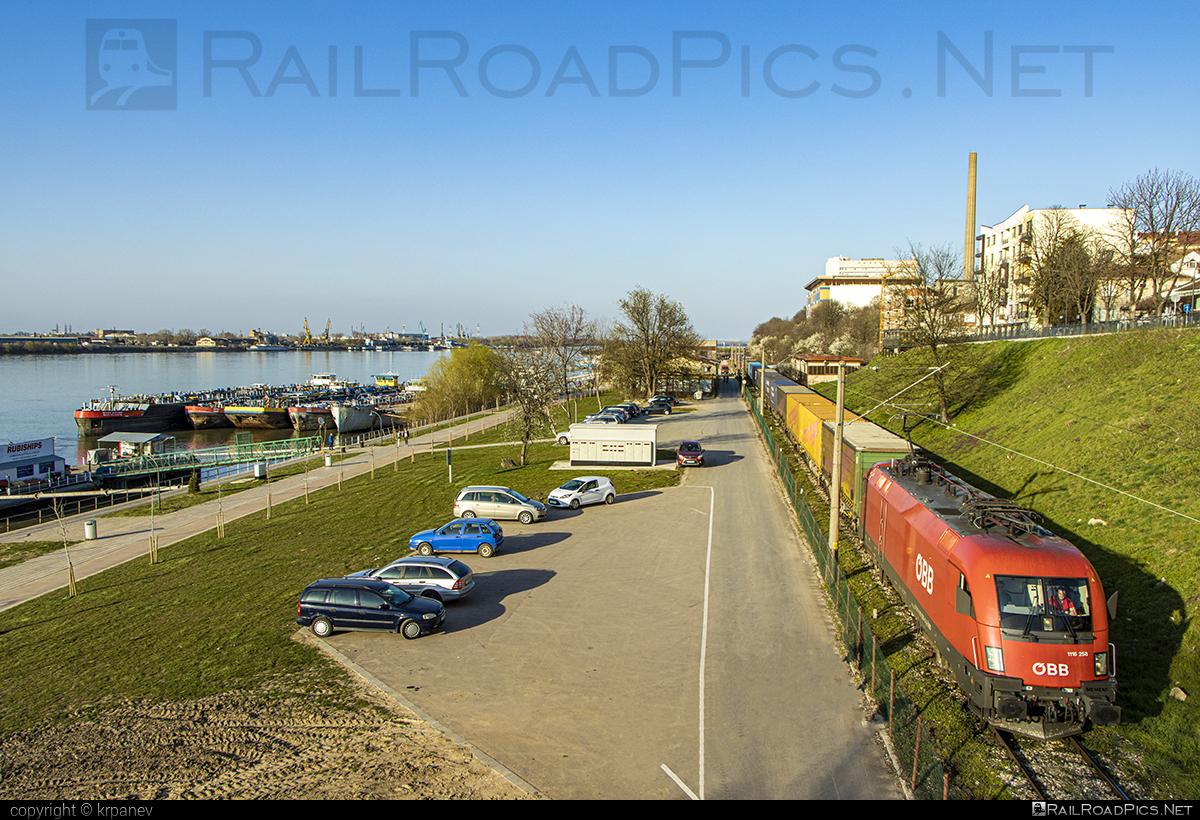 Siemens ES 64 U2 - 1116 258 operated by Rail Cargo Carrier - Bulgaria #RailCargoCarrierBulgaria #es64 #es64u #es64u2 #eurosprinter #flatwagon #obb #osterreichischebundesbahnen #rccbg #siemens #siemenses64 #siemenses64u #siemenses64u2 #siemenstaurus #taurus #tauruslocomotive