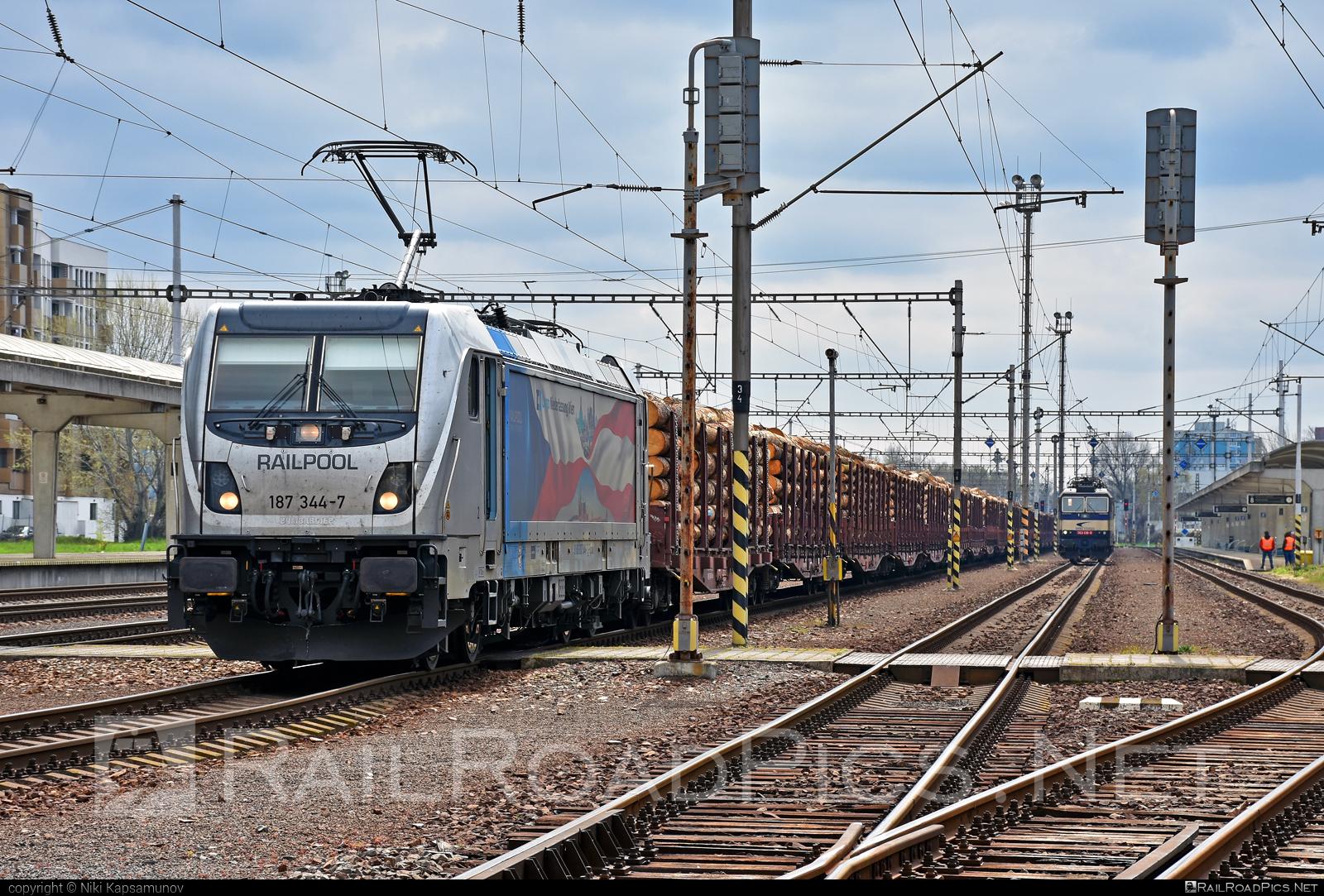 Bombardier TRAXX F160 AC3 - 187 344-7 operated by ČD Cargo, a.s. #bombardier #bombardiertraxx #cdcargo #cdcargoniederlassungwien #railpool #railpoolgmbh #traxx #traxxf160 #traxxf160ac #traxxf160ac3