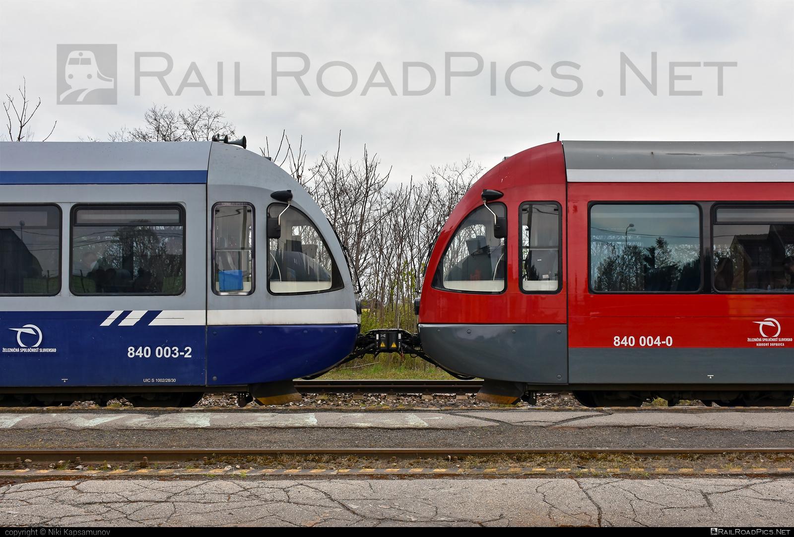 GTW Vysoké Tatry Class 840 - 840 003-2 operated by Železničná Spoločnost' Slovensko, a.s. #ZeleznicnaSpolocnostSlovensko #delfin #gtw26 #gtwvysoketatry #zssk #zssk840