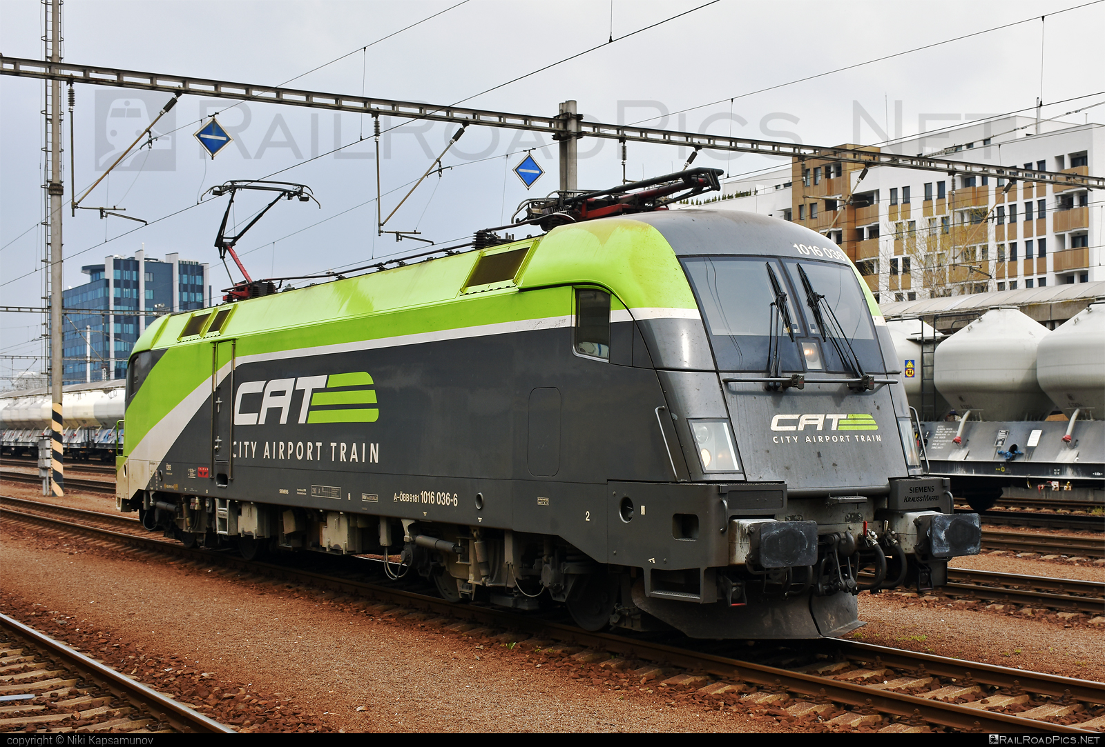 Siemens ES 64 U2 - 1016 036 operated by Rail Cargo Austria AG #cat #es64 #es64u #es64u2 #eurosprinter #obb #osterreichischebundesbahnen #rcw #siemens #siemenses64 #siemenses64u #siemenses64u2 #siemenstaurus #taurus #tauruslocomotive