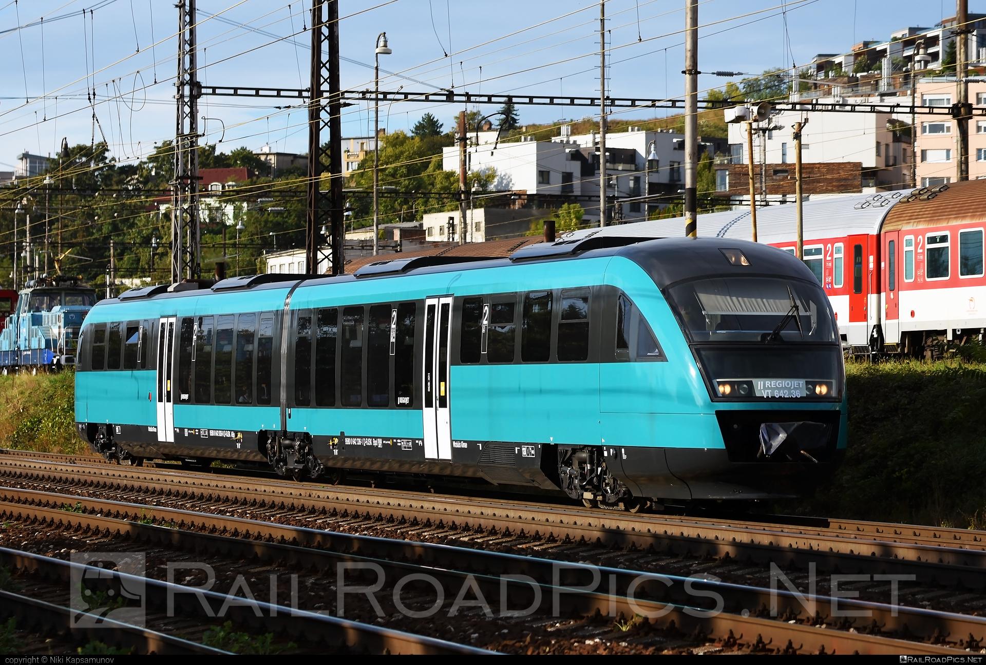 Siemens Desiro Classic - VT 642.36 operated by RegioJet a.s. #desiro #desiroclassic #regiojet #siemens #siemensdesiro #siemensdesiroclassic