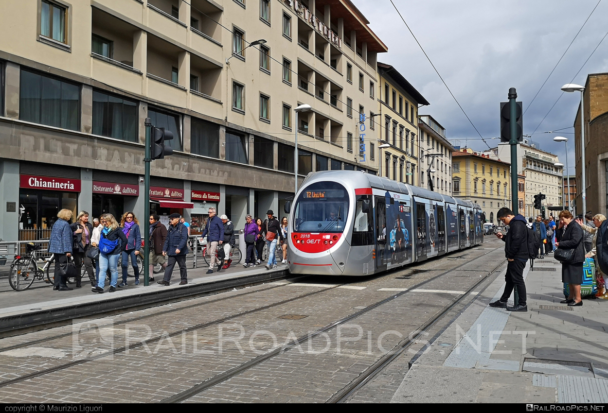 Hitachi Rail Italy Sirio - 2018 operated by GEST #GestionedelServizioTramviario #HitachiRailItaly #TramdiFirenze #gest #hitachirailitalysirio #hitachirailsirio #hitachisirio #sirio #siriotram