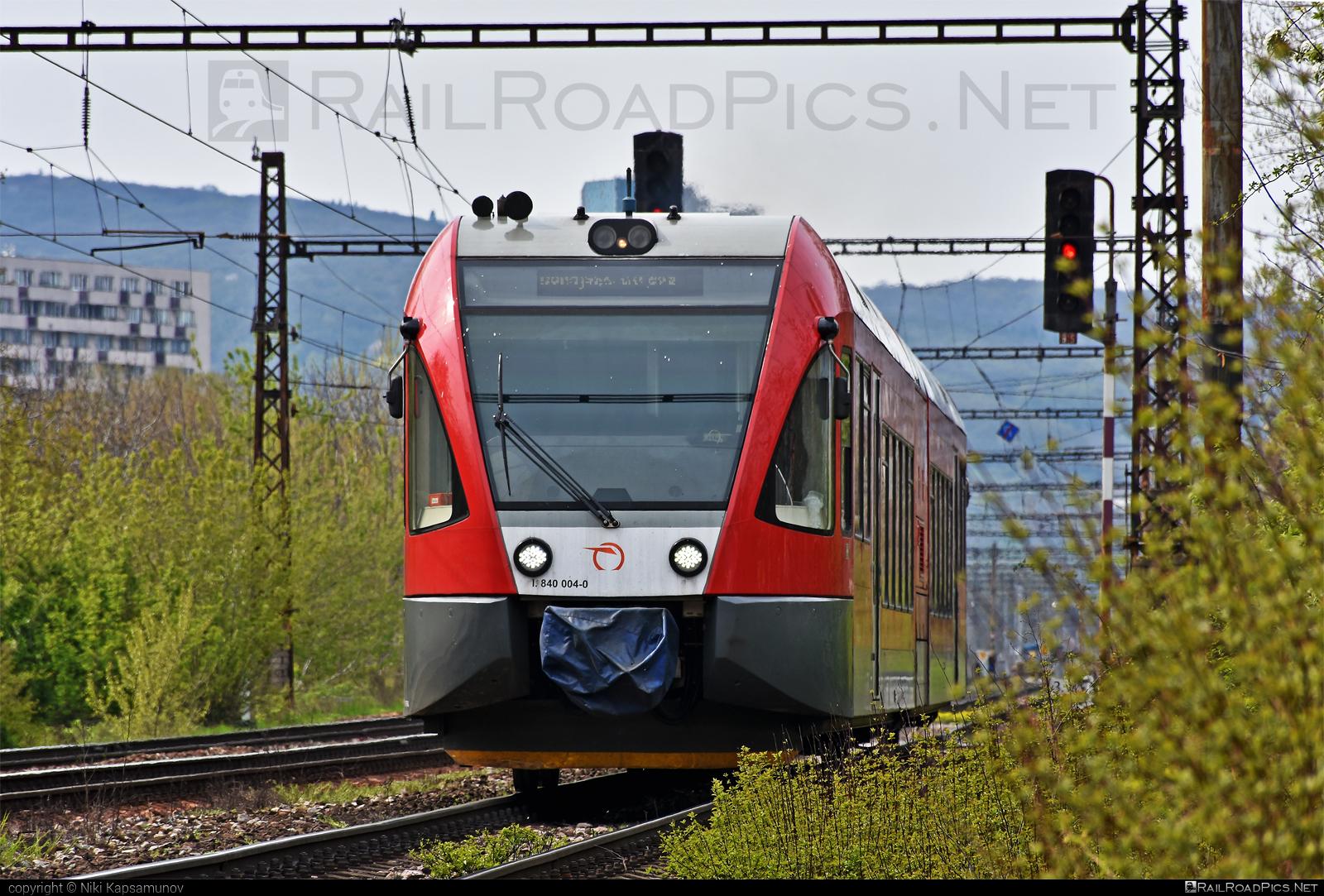 GTW Vysoké Tatry Class 840 - 840 004-0 operated by Železničná Spoločnost' Slovensko, a.s. #ZeleznicnaSpolocnostSlovensko #delfin #gtw26 #gtwvysoketatry #zssk #zssk840