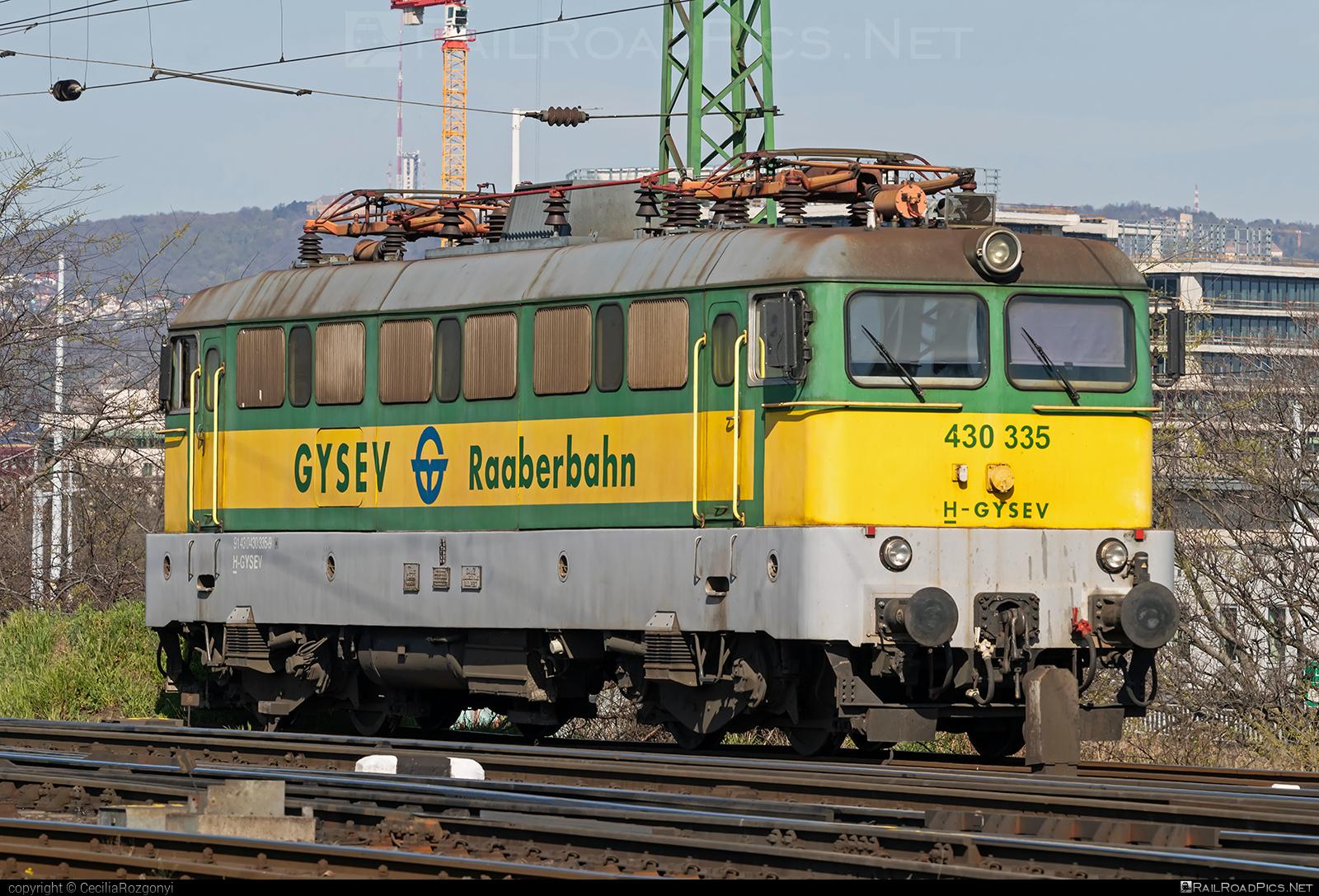 Ganz-MÁVAG VM14-14 - 430 335 operated by GYSEV - Györ-Sopron-Ebenfurti Vasut Részvénytarsasag #ganz43 #ganz431 #ganzmavag #ganzmavag43 #ganzmavag431 #ganzmavagvm1414 #gyorsopronebenfurtivasutreszvenytarsasag #gysev #raaberbahn #v43locomotive
