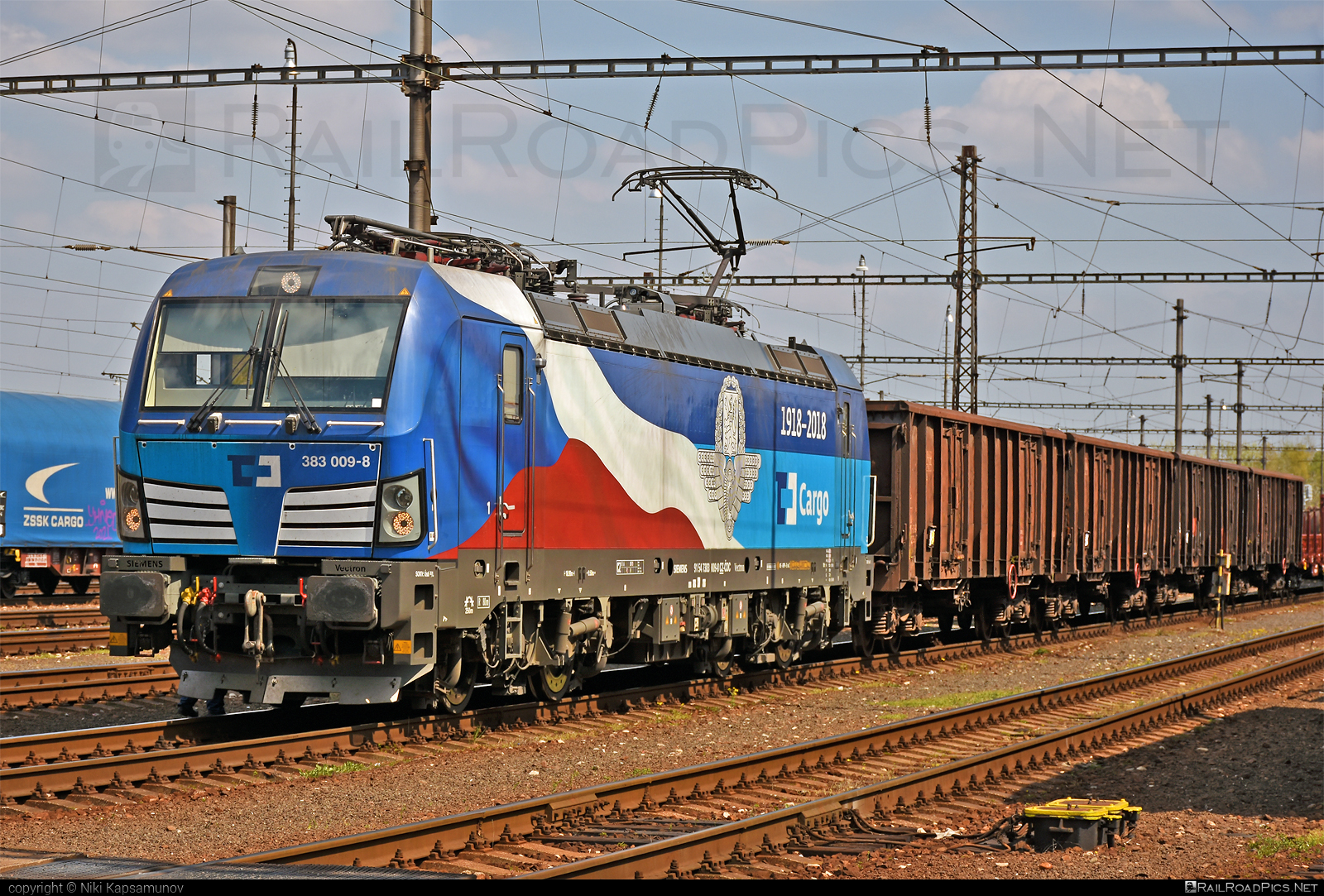Siemens Vectron MS - 383 009-8 operated by ČD Cargo, a.s. #cdcargo #siemens #siemensvectron #siemensvectronms #vectron #vectronms