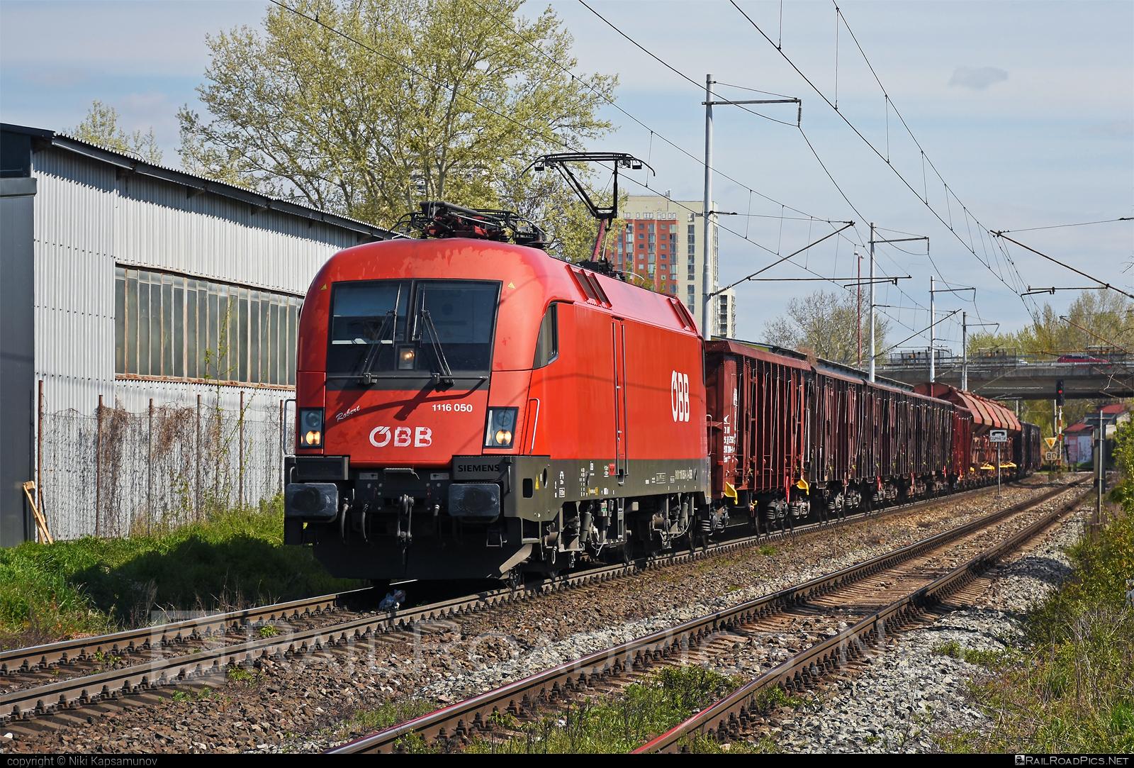 Siemens ES 64 U2 - 1116 050 operated by Rail Cargo Austria AG #es64 #es64u #es64u2 #eurosprinter #obb #osterreichischebundesbahnen #rcw #siemens #siemenses64 #siemenses64u #siemenses64u2 #siemenstaurus #taurus #tauruslocomotive