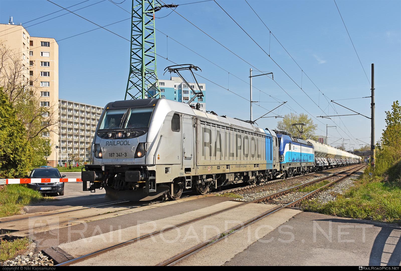 Bombardier TRAXX F160 AC3 - 187 341-3 operated by ČD Cargo, a.s. #bombardier #bombardiertraxx #cdcargo #cdcargoniederlassungwien #railpool #railpoolgmbh #traxx #traxxf160 #traxxf160ac #traxxf160ac3